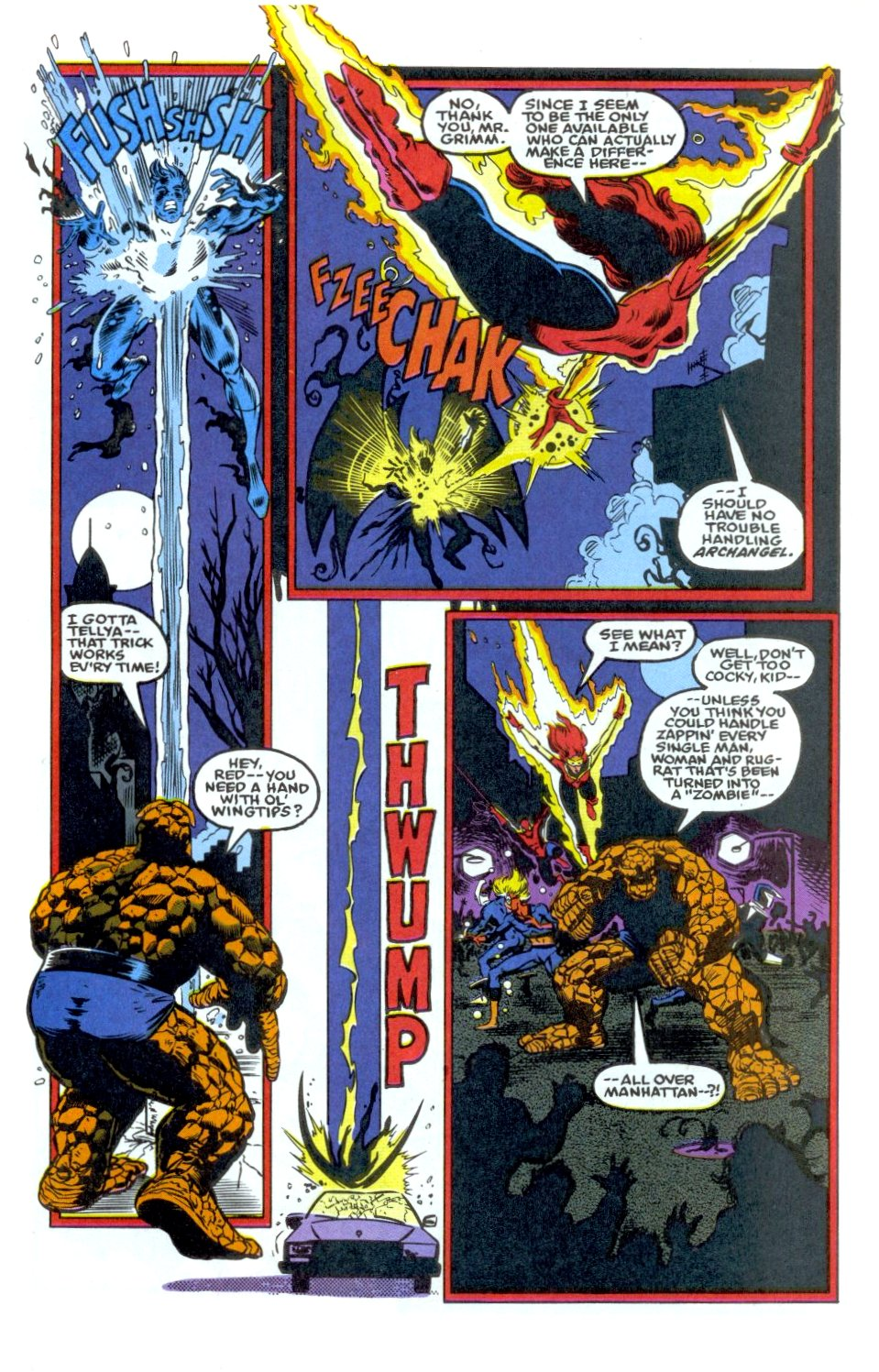 The New Warriors Issue #34 #38 - English 14