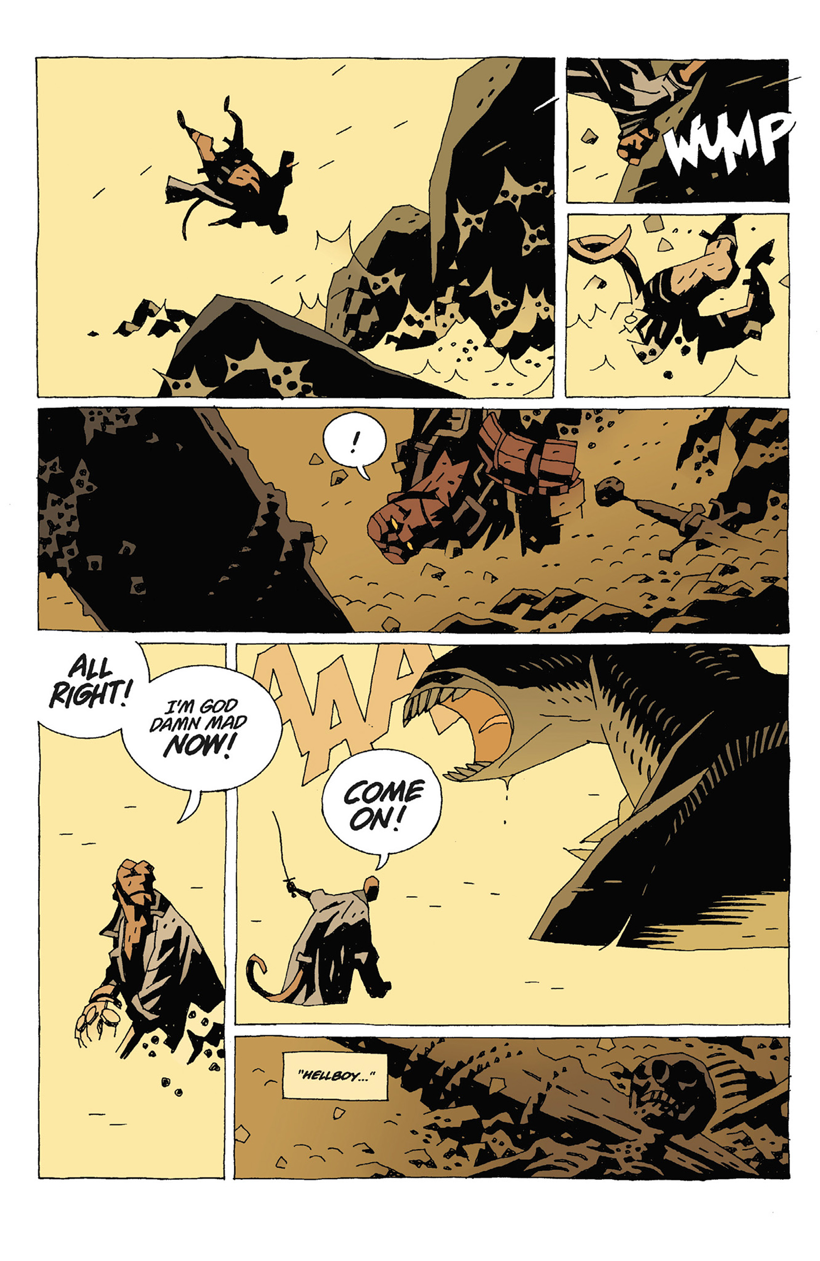 Read online Hellboy: Strange Places comic -  Issue # TPB - 86