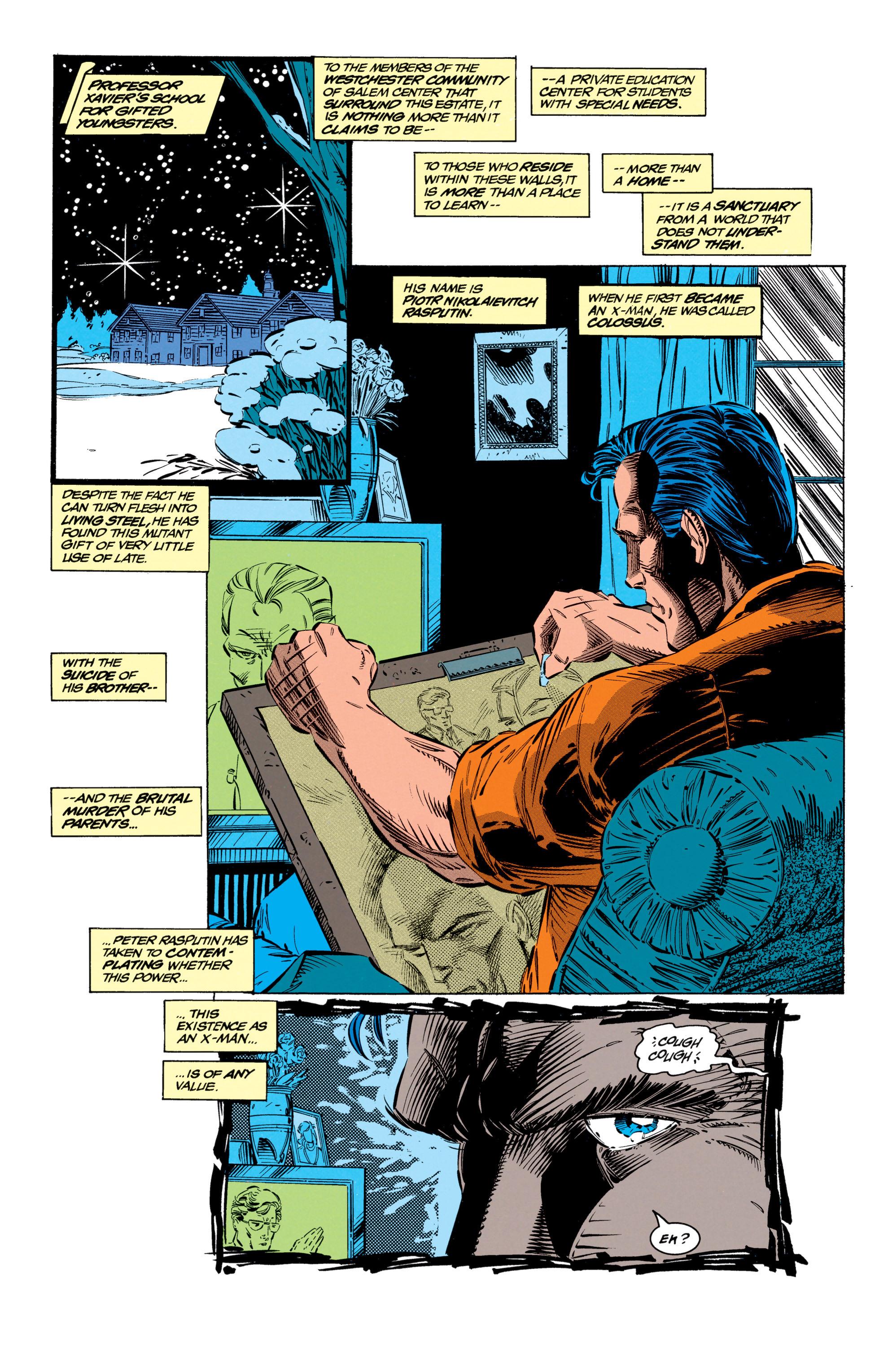 Read online Uncanny X-Men (1963) comic -  Issue #299 - 15