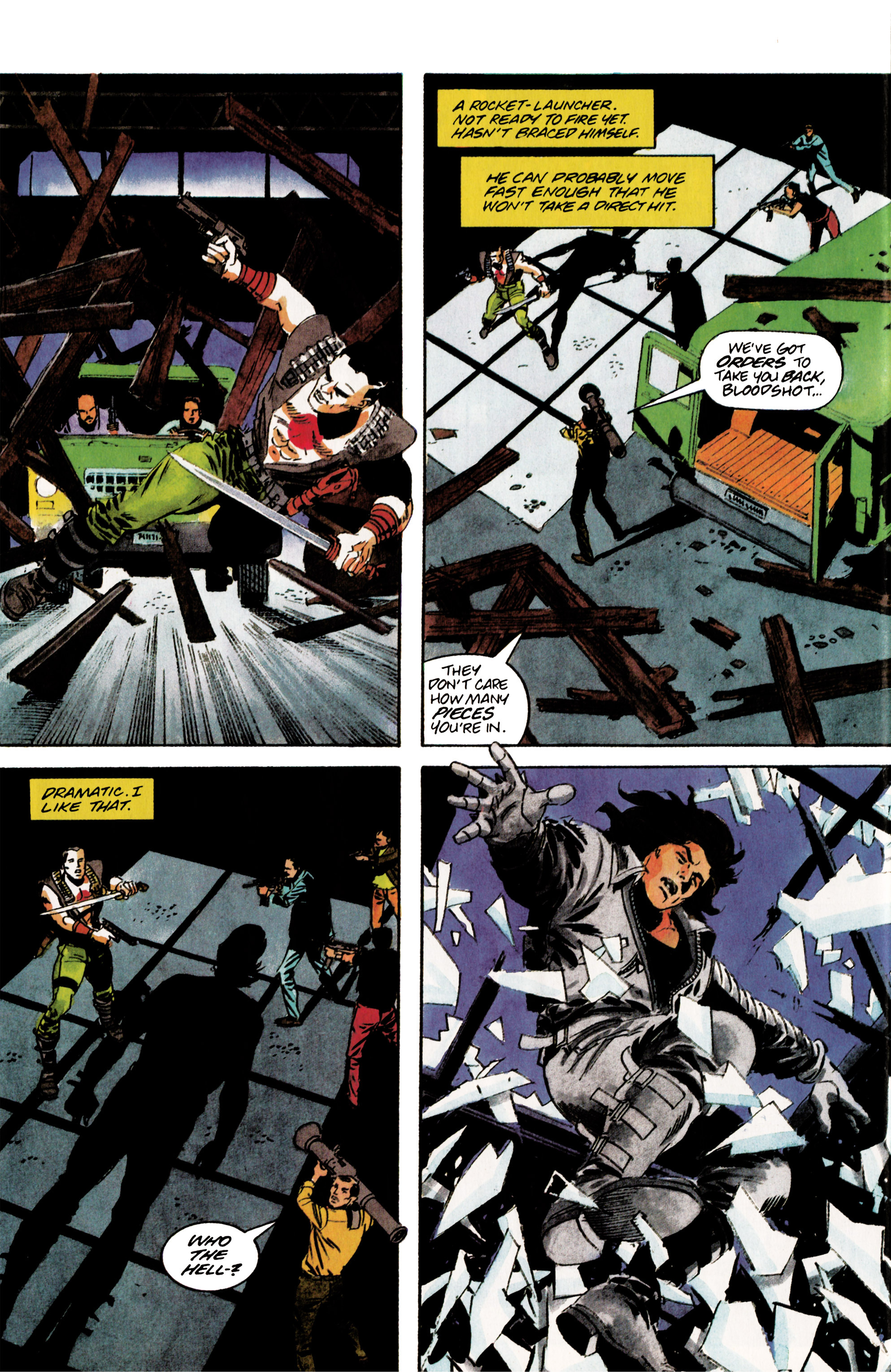 Read online Eternal Warrior (1992) comic -  Issue #5 - 20