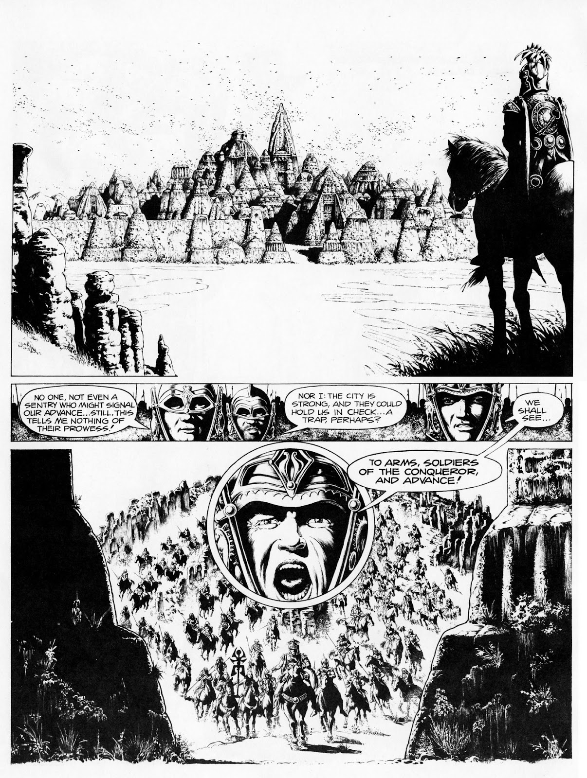 Conquering Armies issue TPB - Page 6