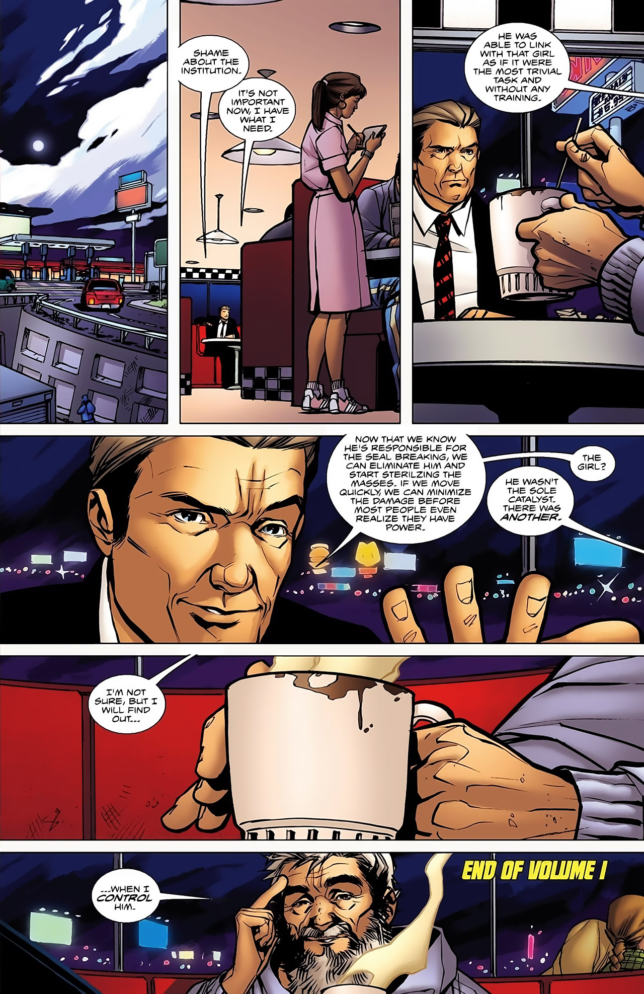 Read online Magus comic -  Issue #5 - 25