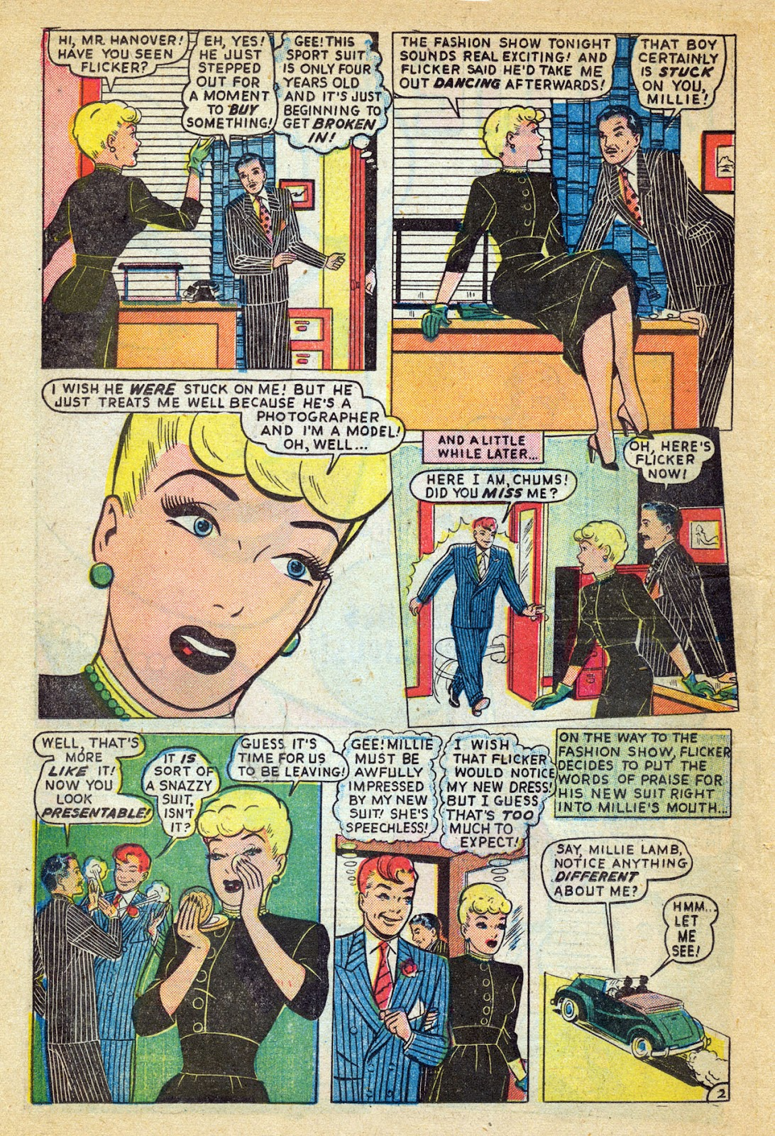 Read online Millie the Model comic -  Issue #14 - 30