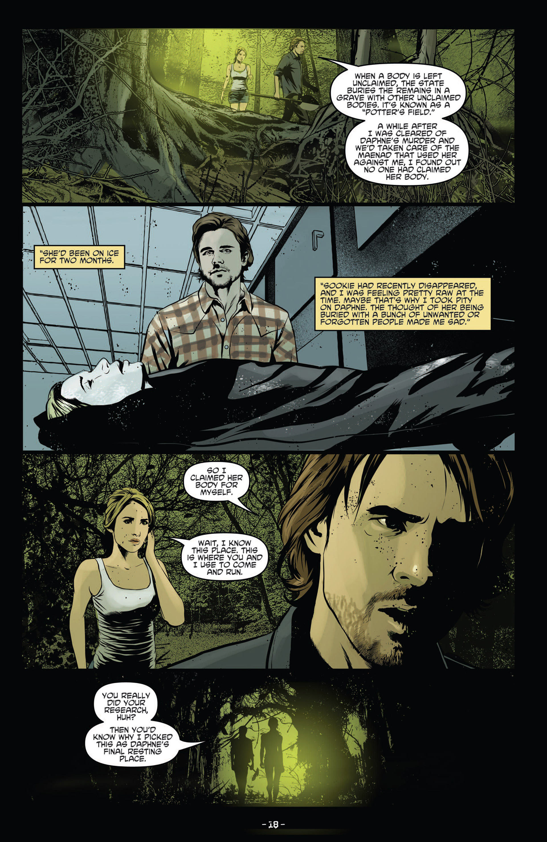 Read online True Blood (2012) comic -  Issue #12 - 20