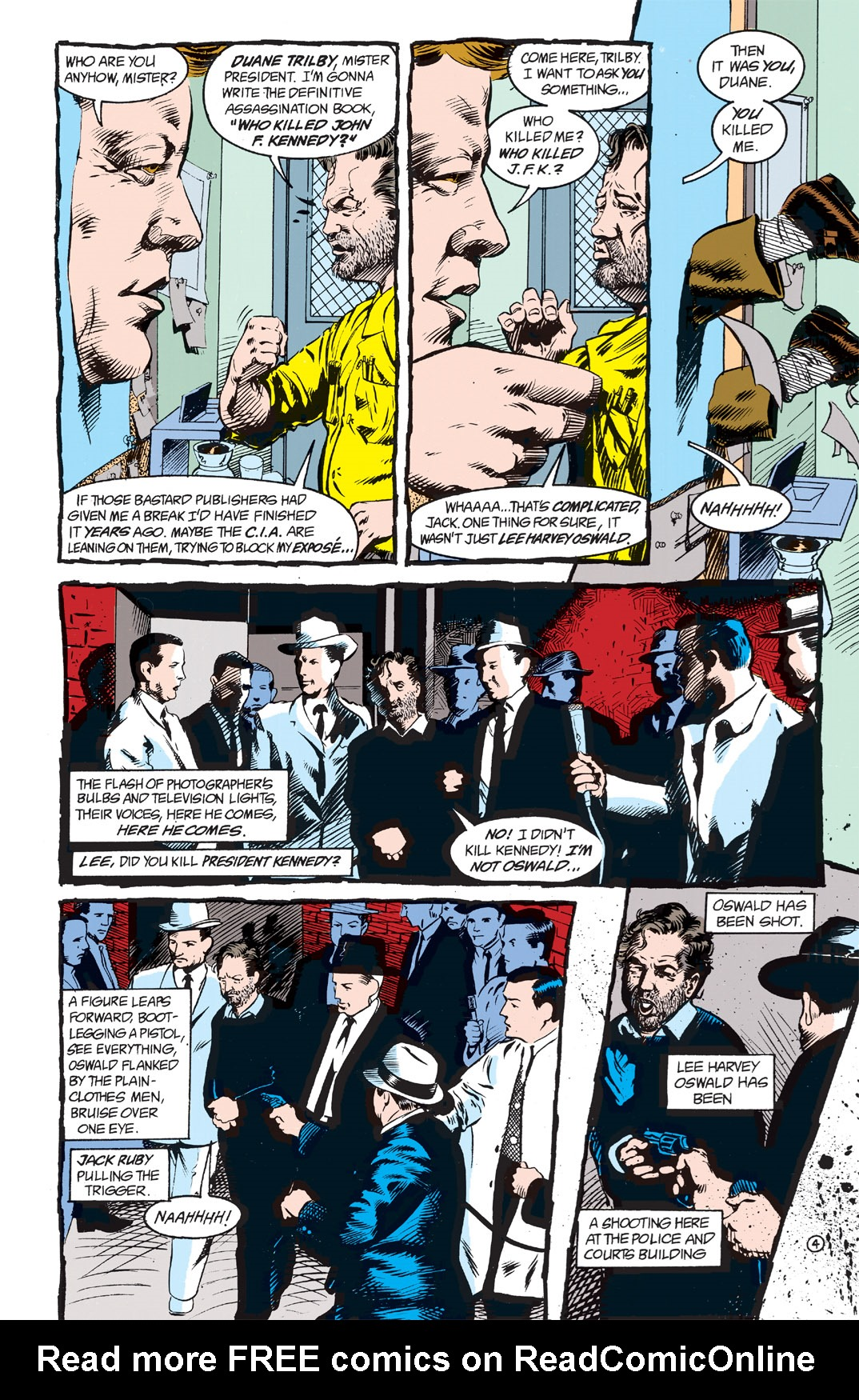 Read online Shade, the Changing Man comic -  Issue #2 - 6