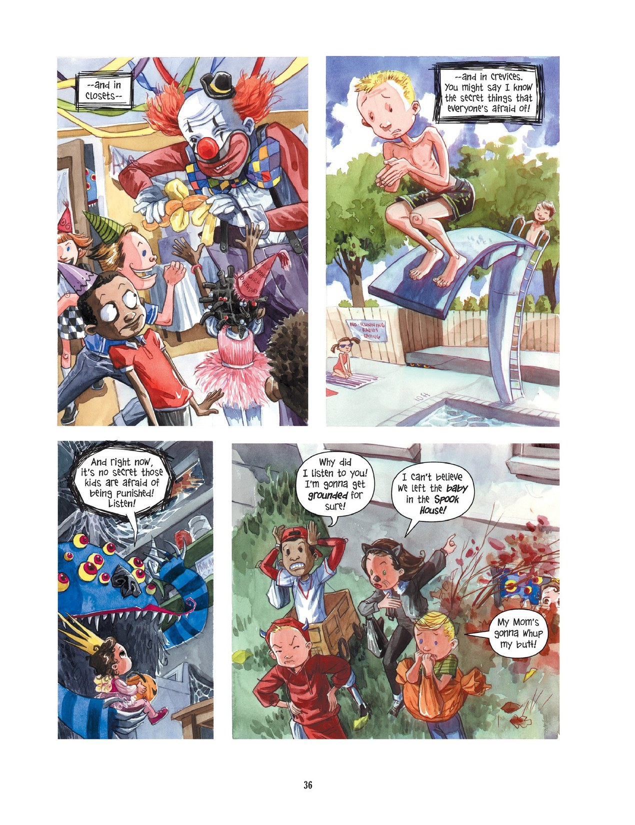 Read online Scary Godmother comic -  Issue # TPB - 36