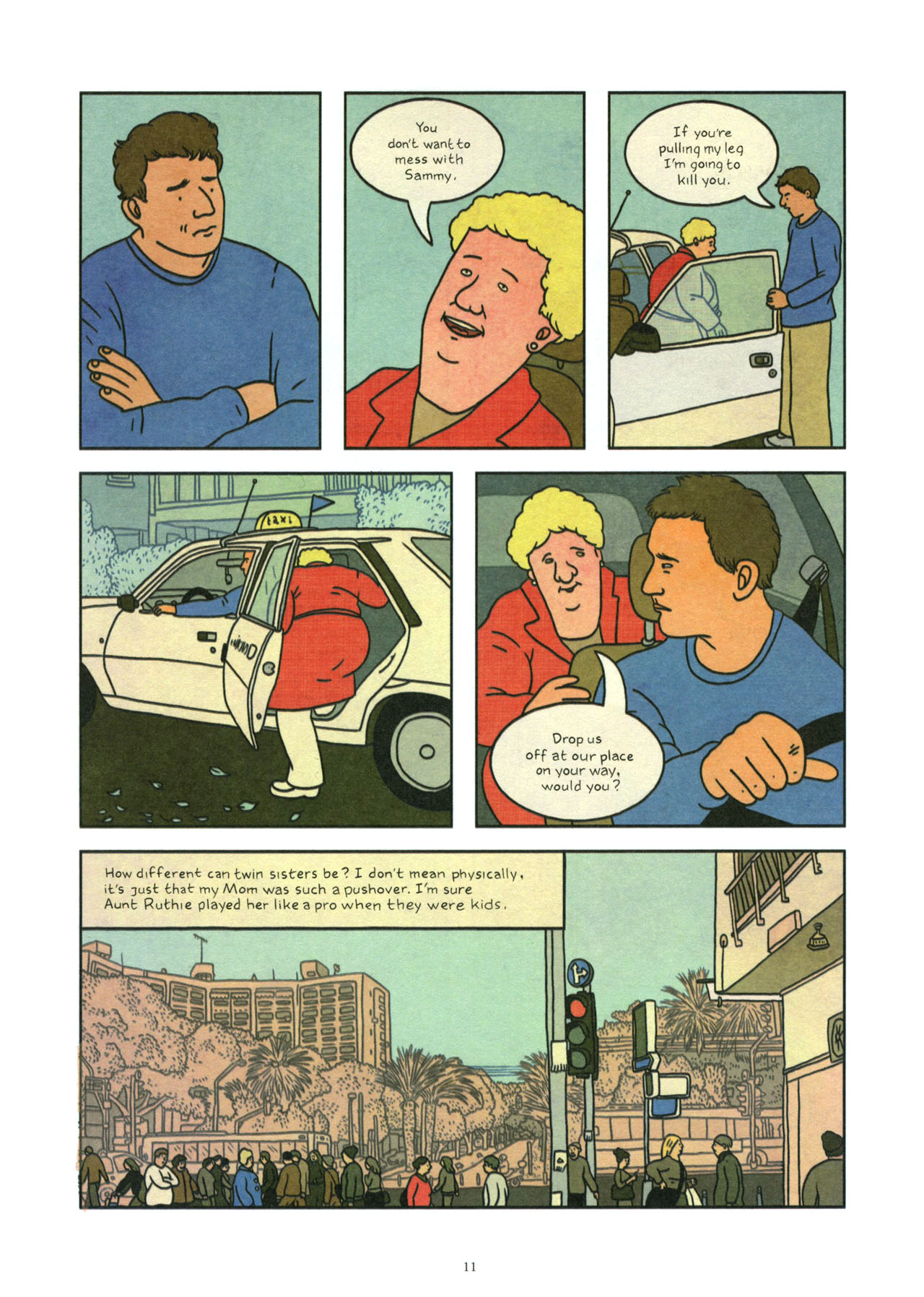 Read online Exit Wounds comic -  Issue # TPB - 12