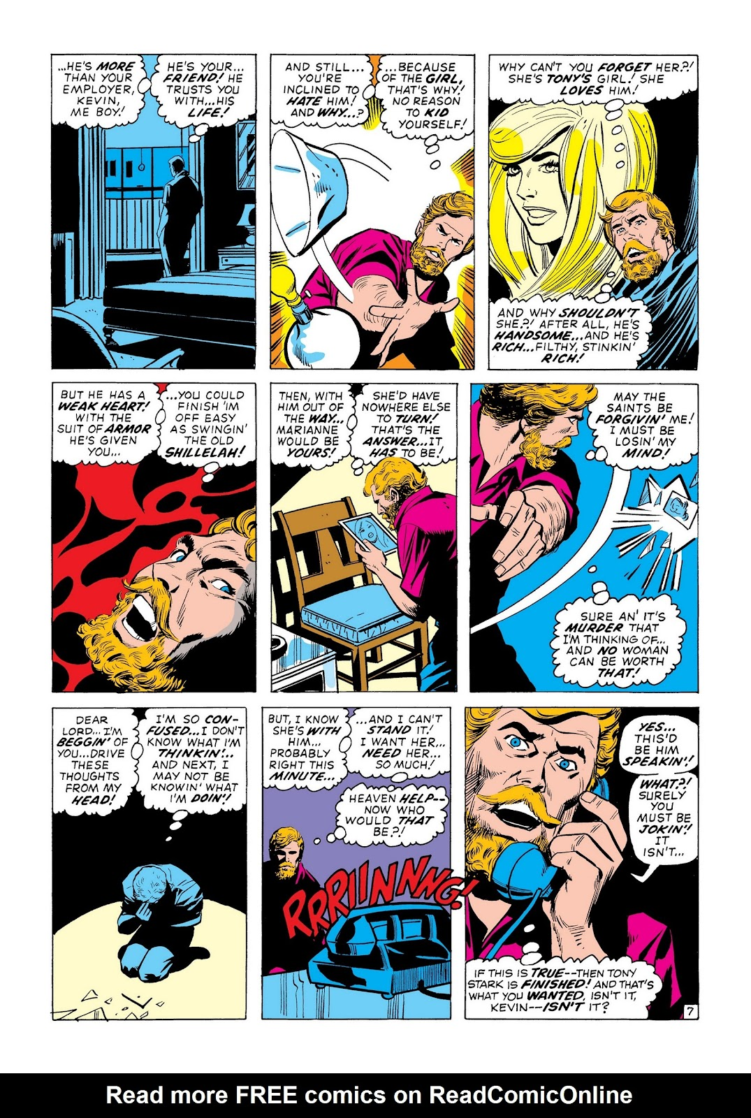 Read online Marvel Masterworks: The Invincible Iron Man comic -  Issue # TPB 8 (Part 2) - 29