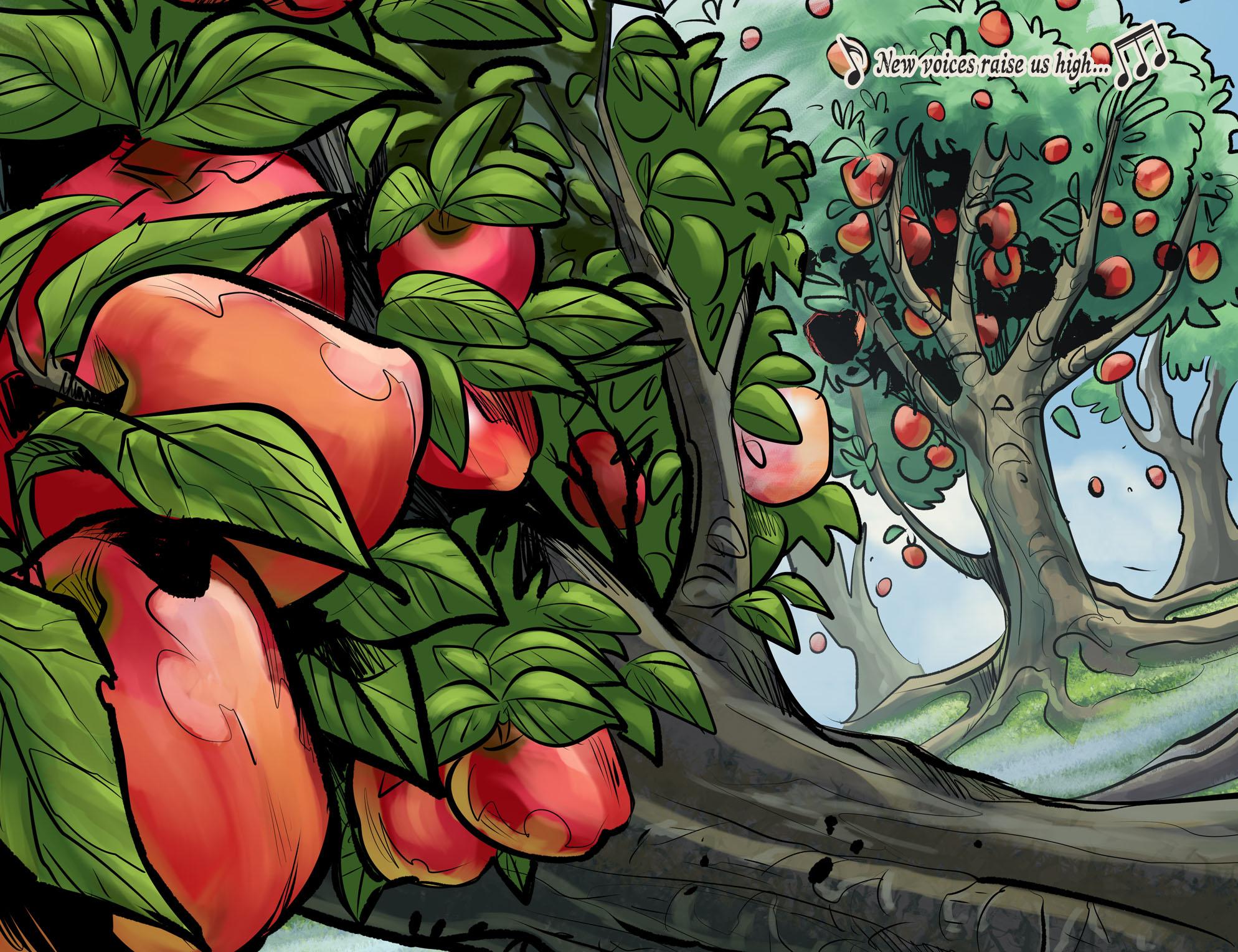 Read online DC Comics: Bombshells comic -  Issue #100 - 5