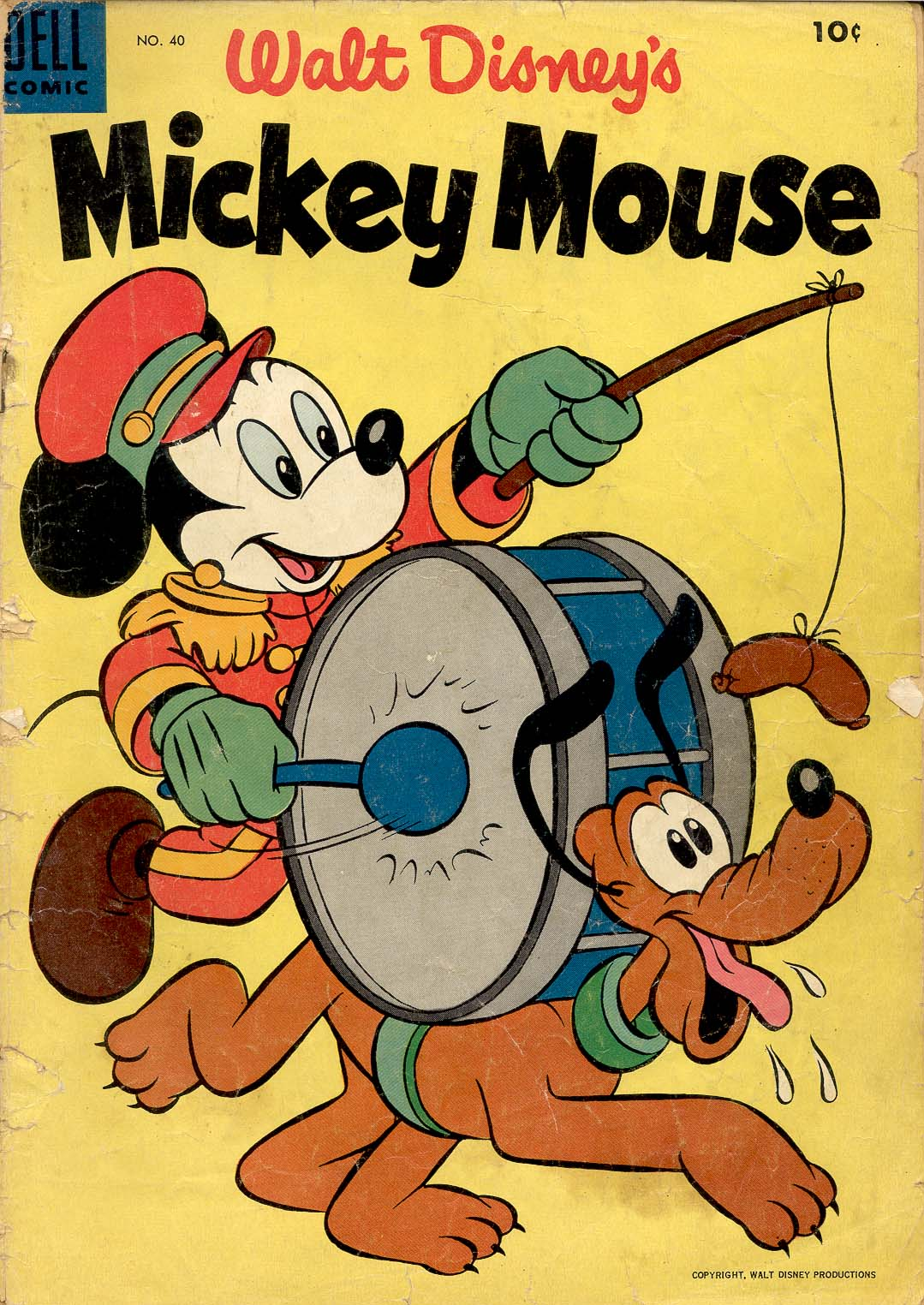 Walt Disney's Mickey Mouse issue 40 - Page 1