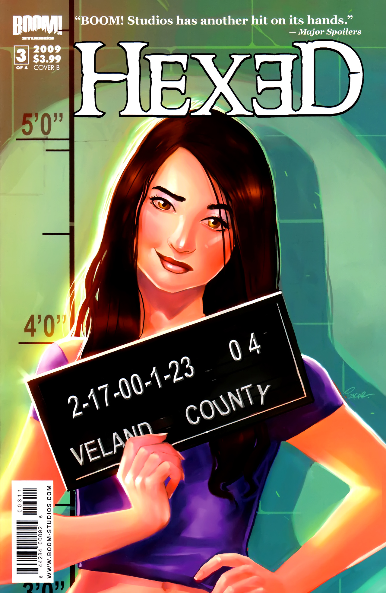 Read online Hexed comic -  Issue #3 - 1