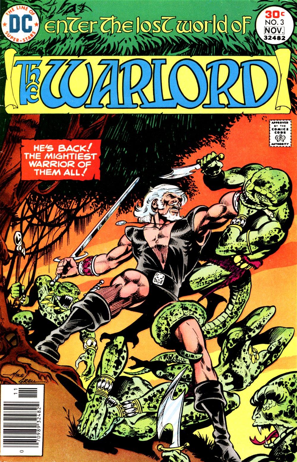 Warlord (1976) 3 Page 1