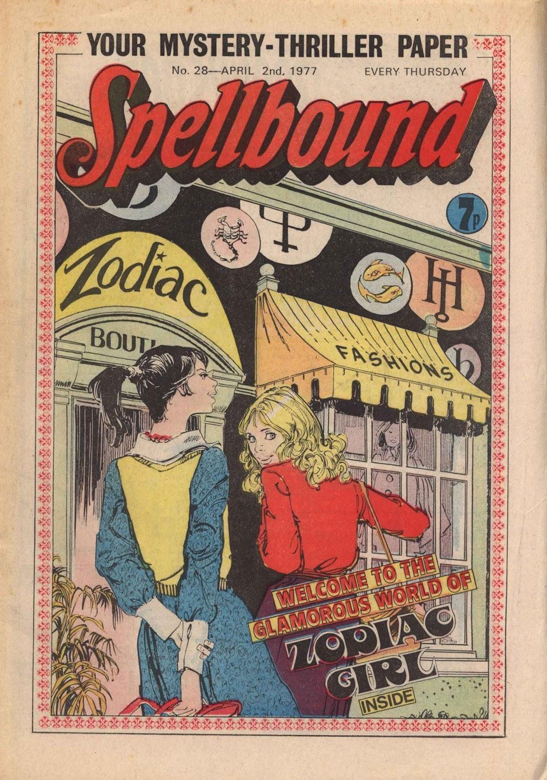 Spellbound (1988) issue 28 - Page 1