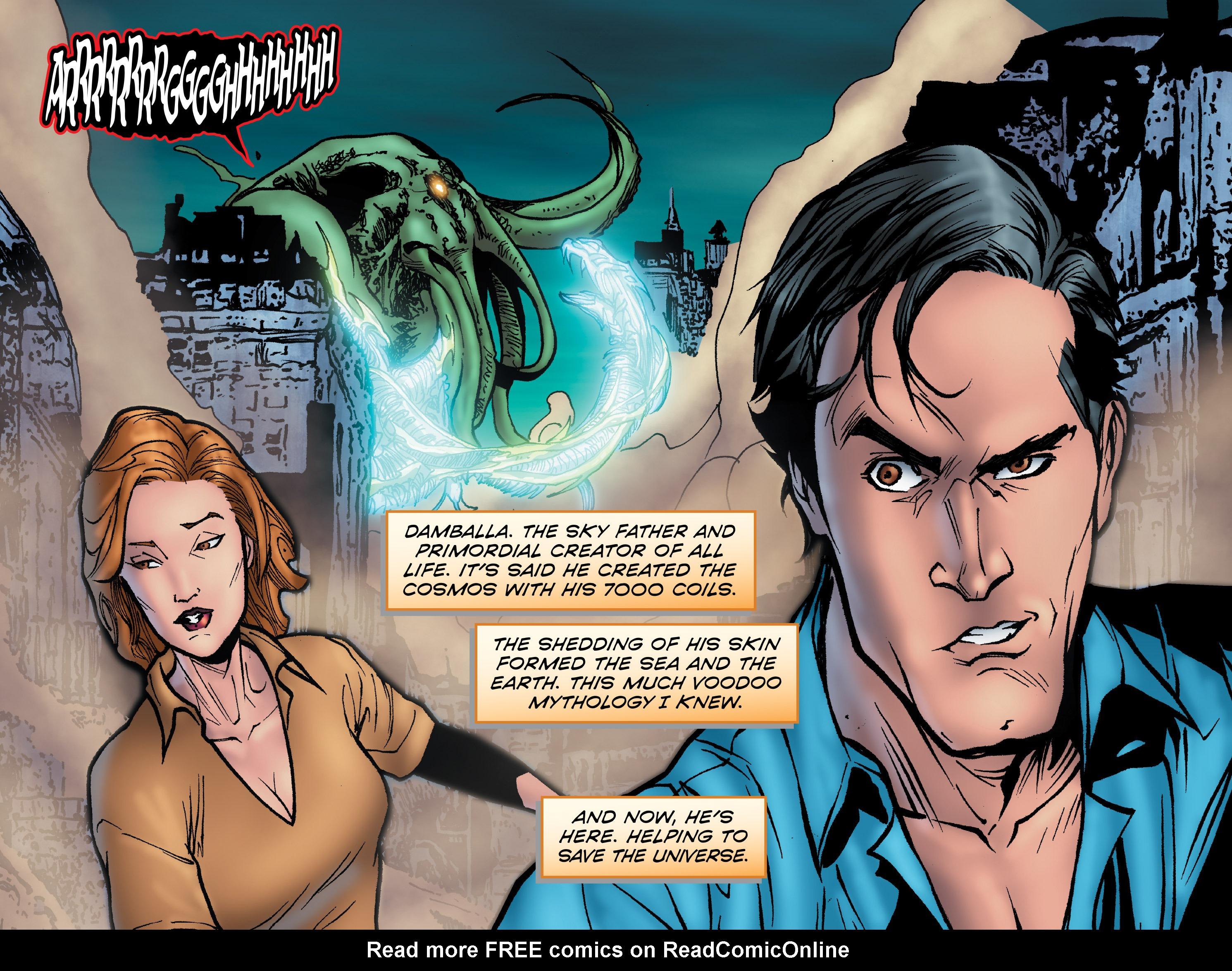 Read online Evil Dead 2: Dark Ones Rising comic -  Issue #5 - 8
