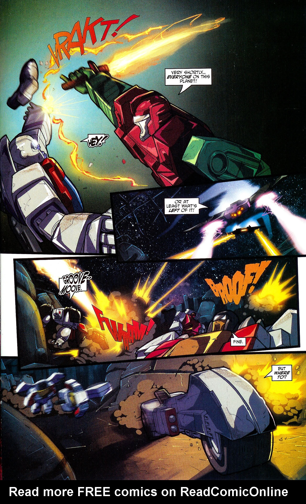 """Read online Transformers War Within: """"The Dark Ages"""" comic -  Issue #5 - 13"""