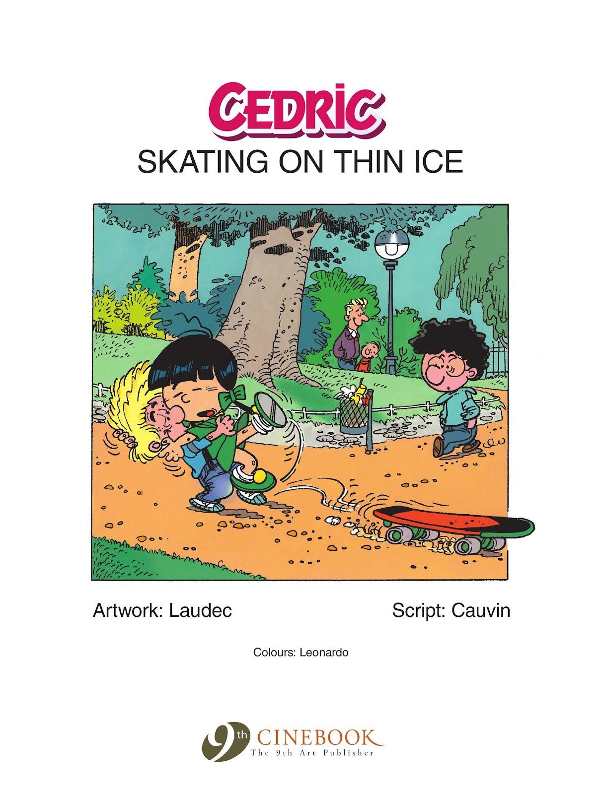 Read online Cedric comic -  Issue #6 - 3
