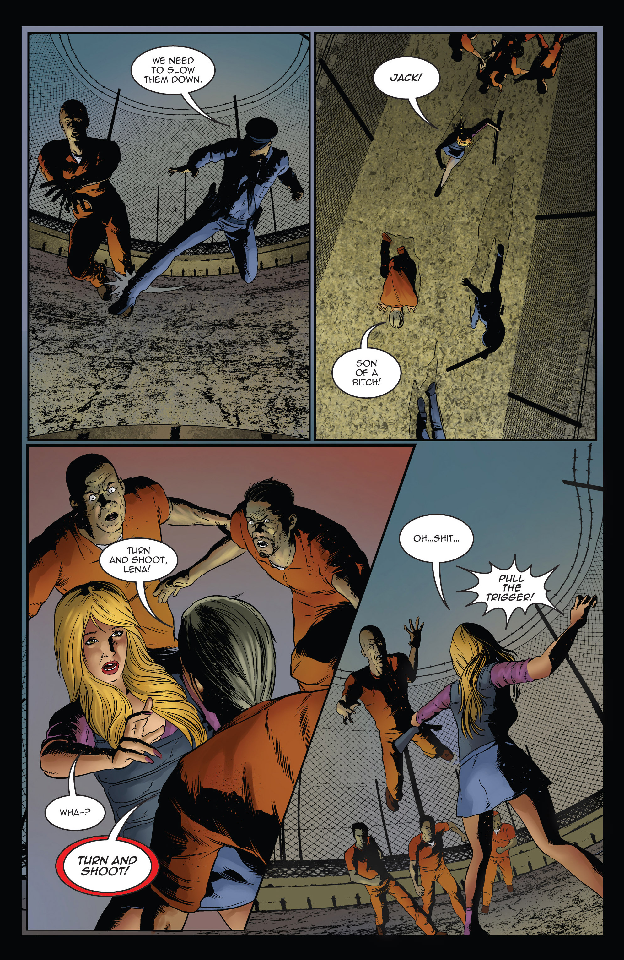 Read online Trancers comic -  Issue #3 - 5