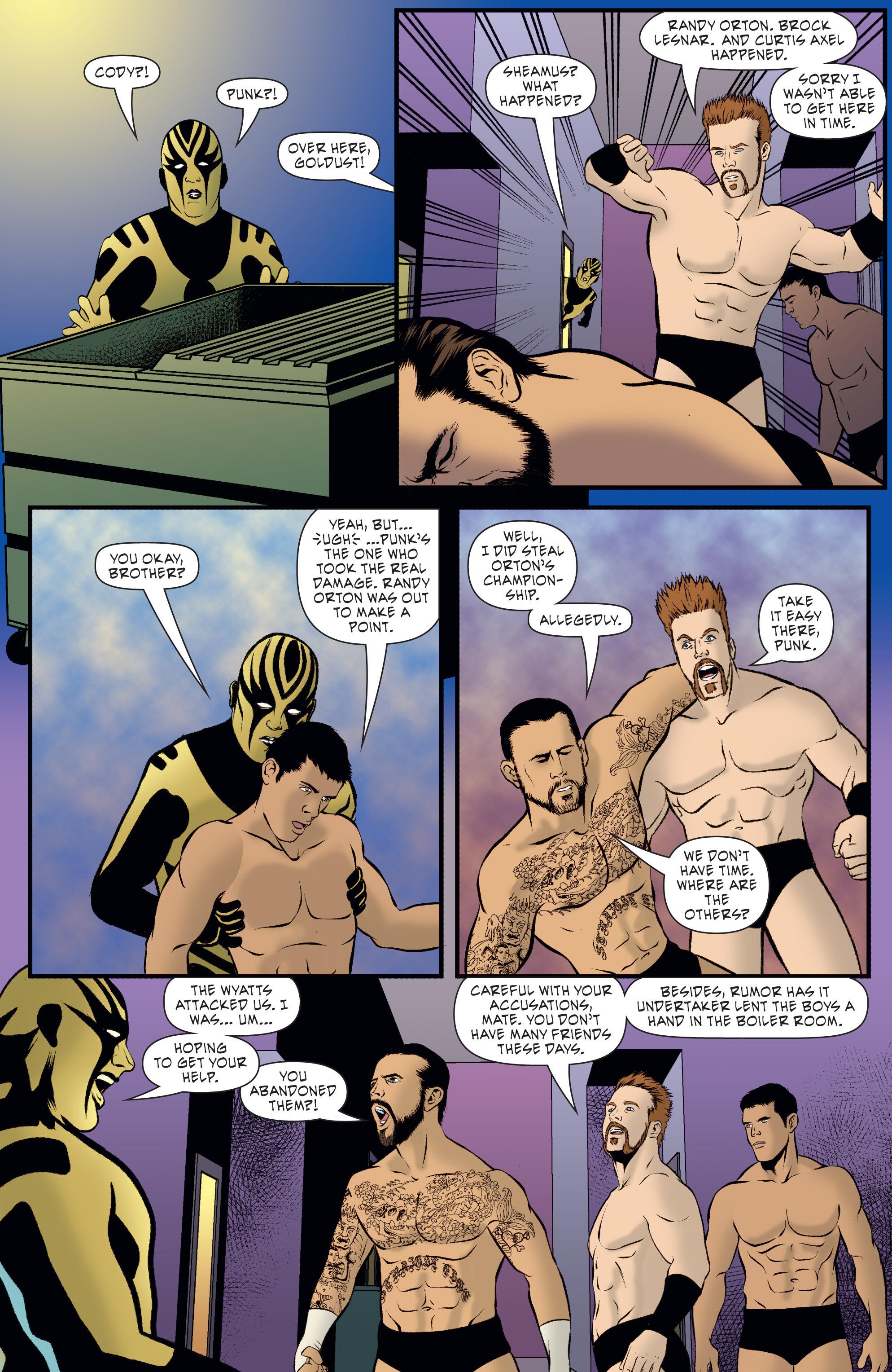 Read online WWE Superstars comic -  Issue #7 - 7