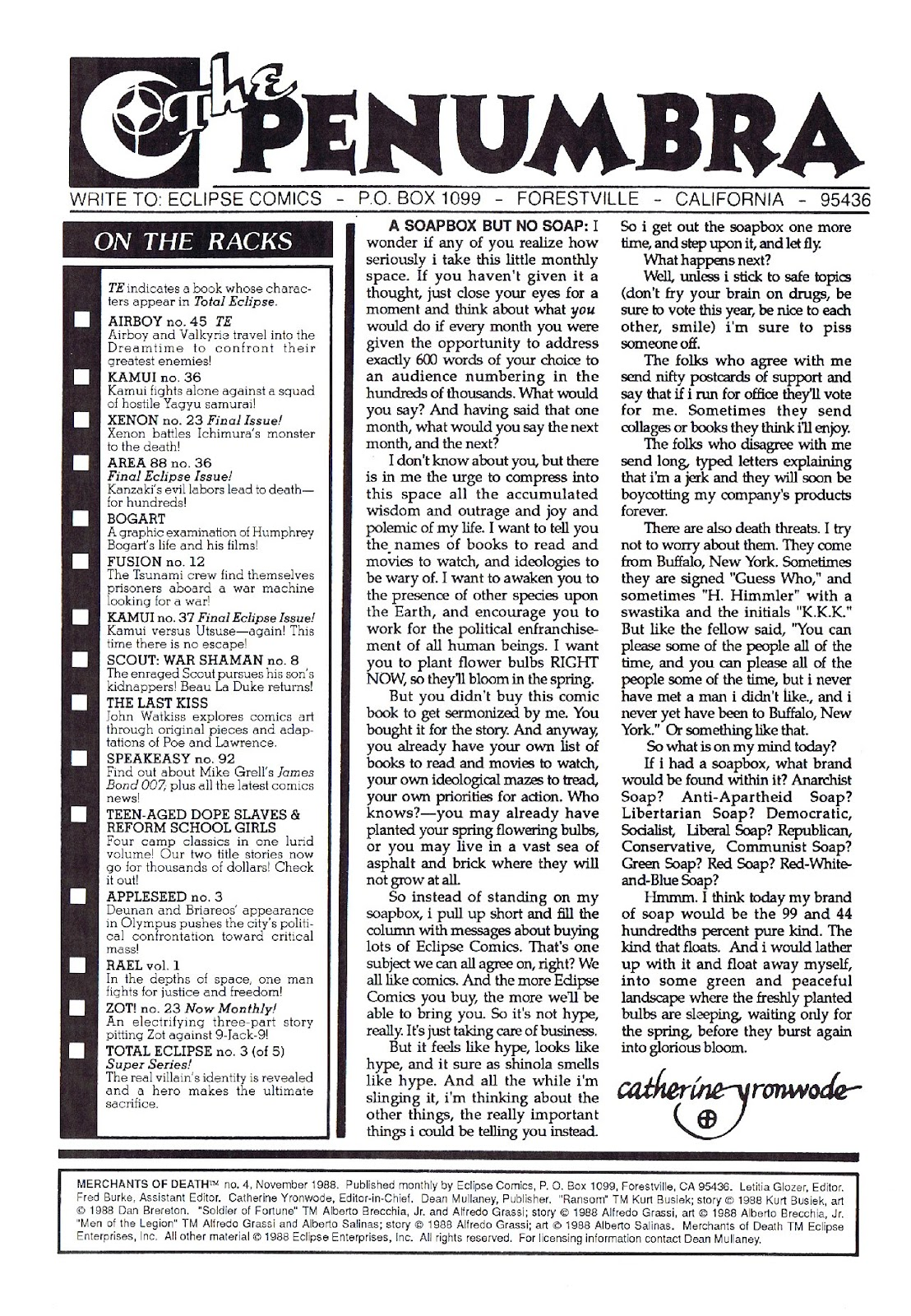 Read online Merchants of Death comic -  Issue #4 - 2