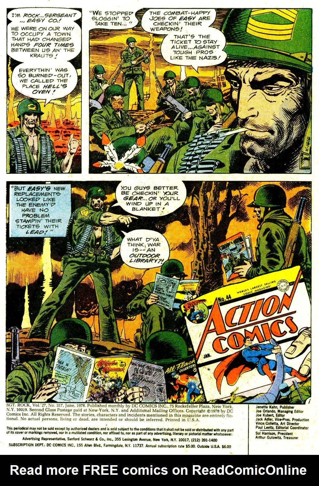 Read online Sgt. Rock comic -  Issue #317 - 3