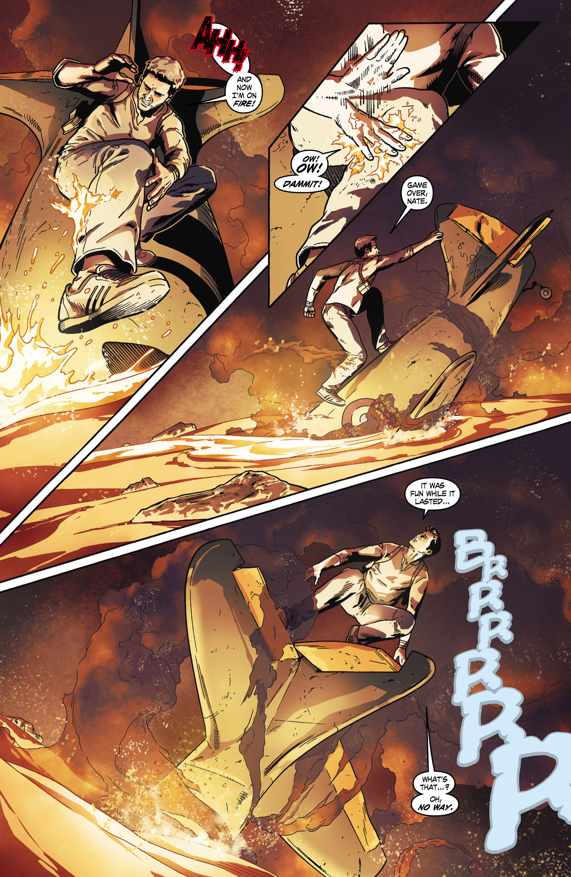 Read online Uncharted comic -  Issue #6 - 12
