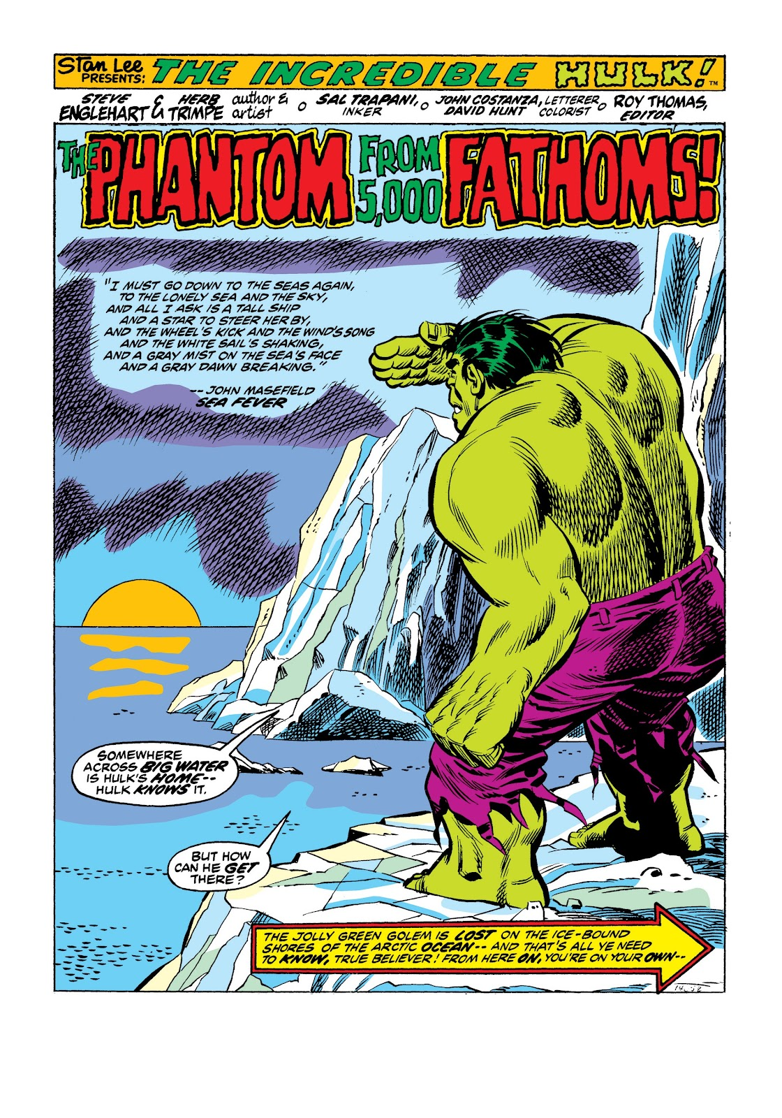 Read online Marvel Masterworks: The Incredible Hulk comic -  Issue # TPB 9 (Part 2) - 57