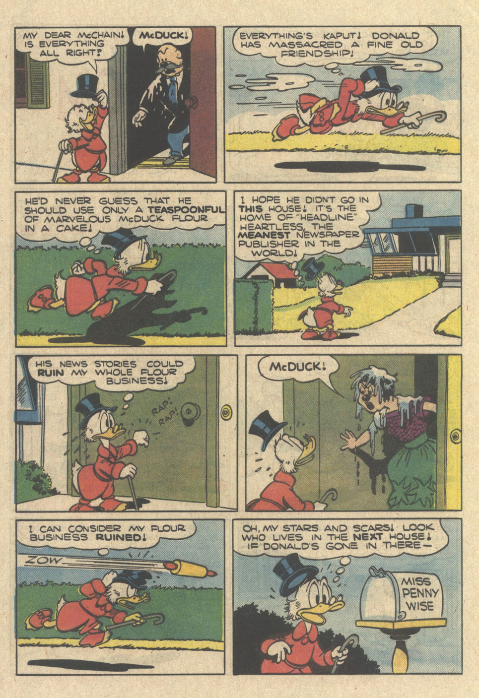 Read online Uncle Scrooge (1953) comic -  Issue #218 - 32