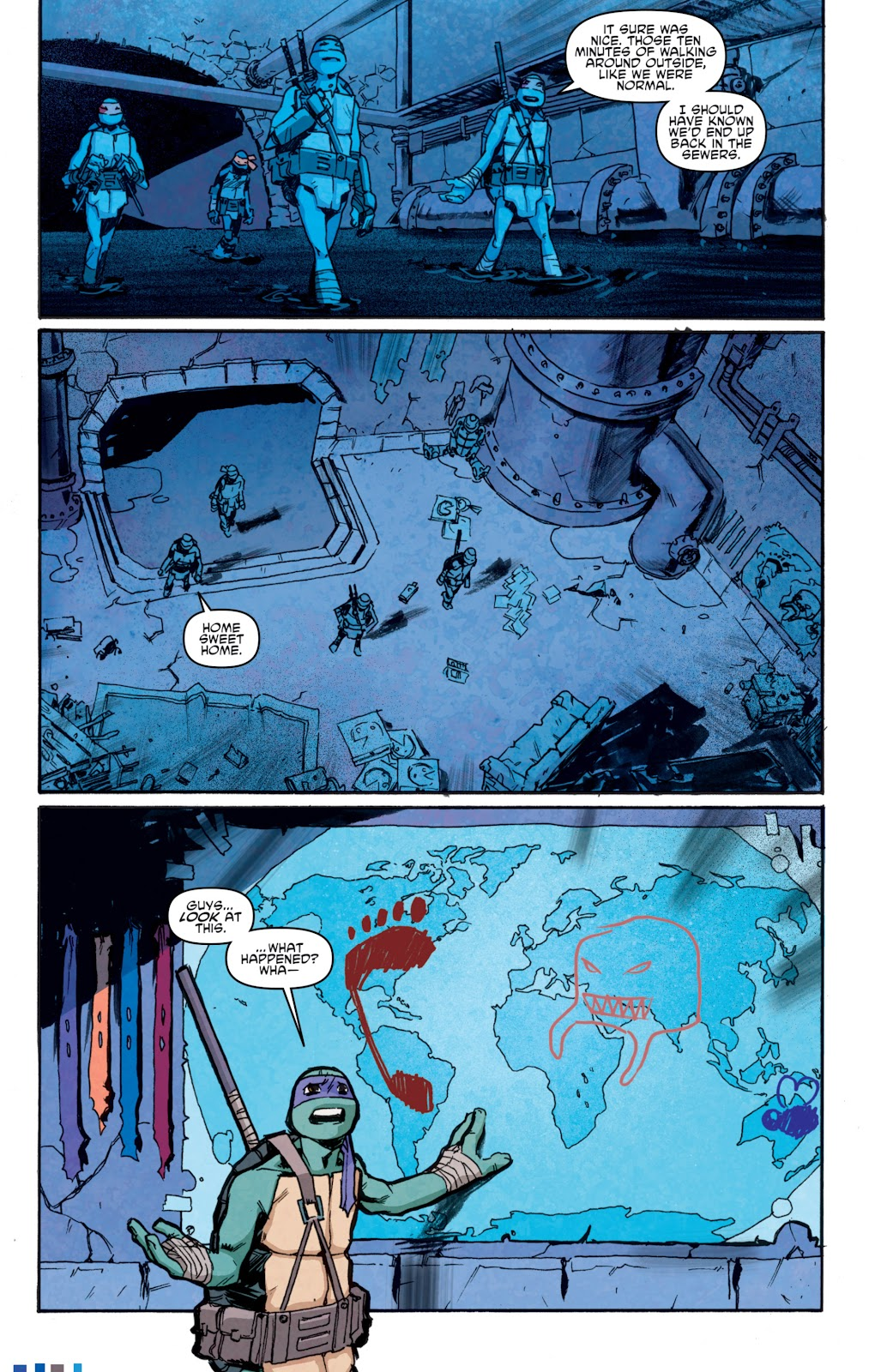 Read online Teenage Mutant Ninja Turtles: The IDW Collection comic -  Issue # TPB 5 (Part 1) - 81