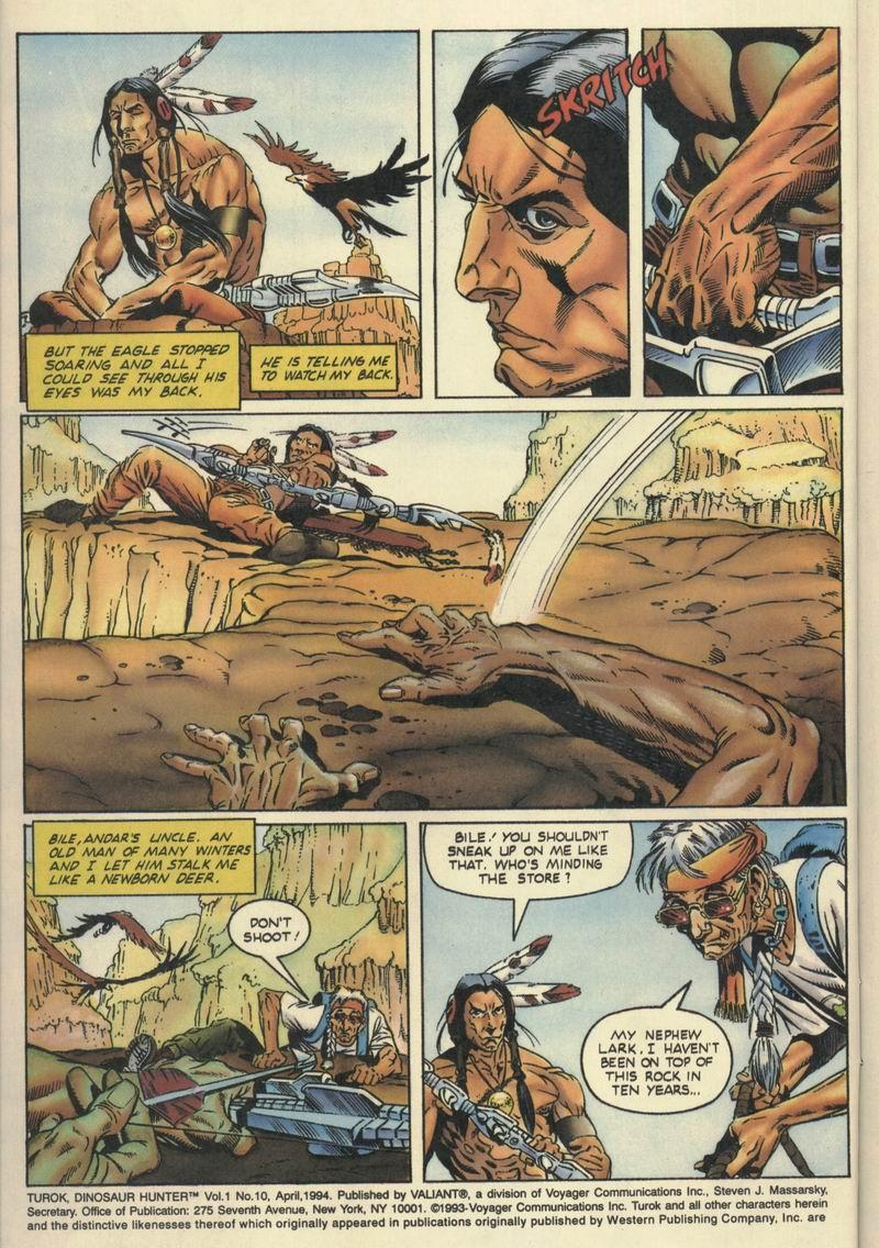 Read online Turok, Dinosaur Hunter (1993) comic -  Issue #10 - 3