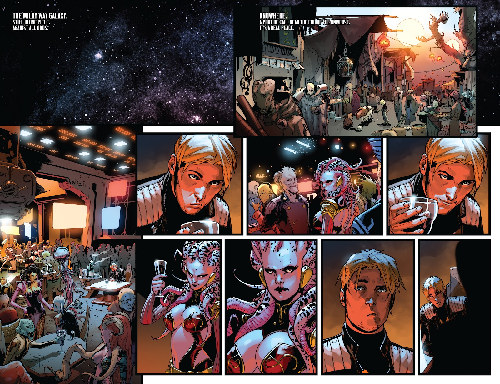 Guardians of the Galaxy/All-New X-Men: The Trial of Jean Grey issue TPB - Page 25