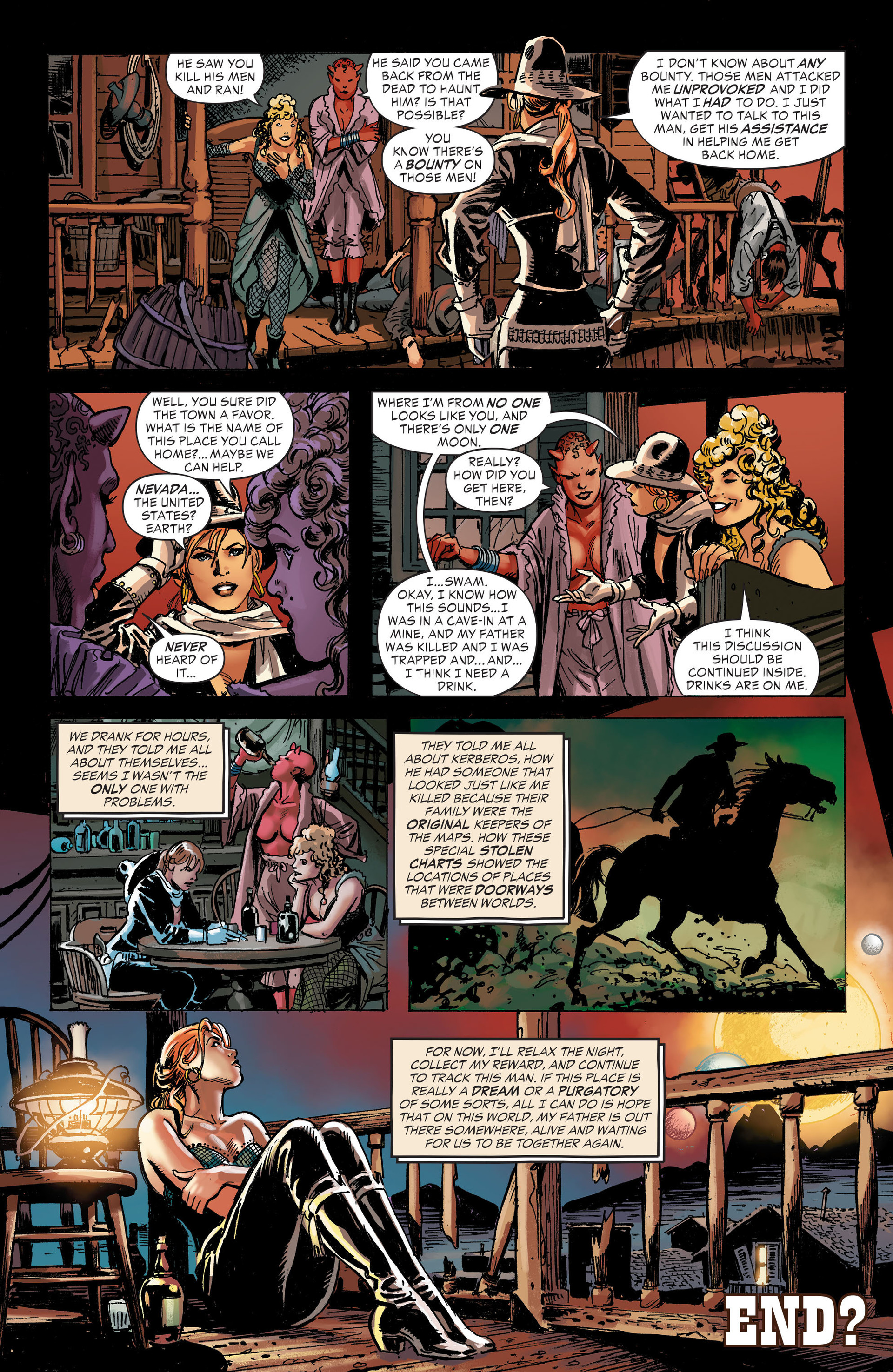 Read online All-Star Western (2011) comic -  Issue #31 - 23