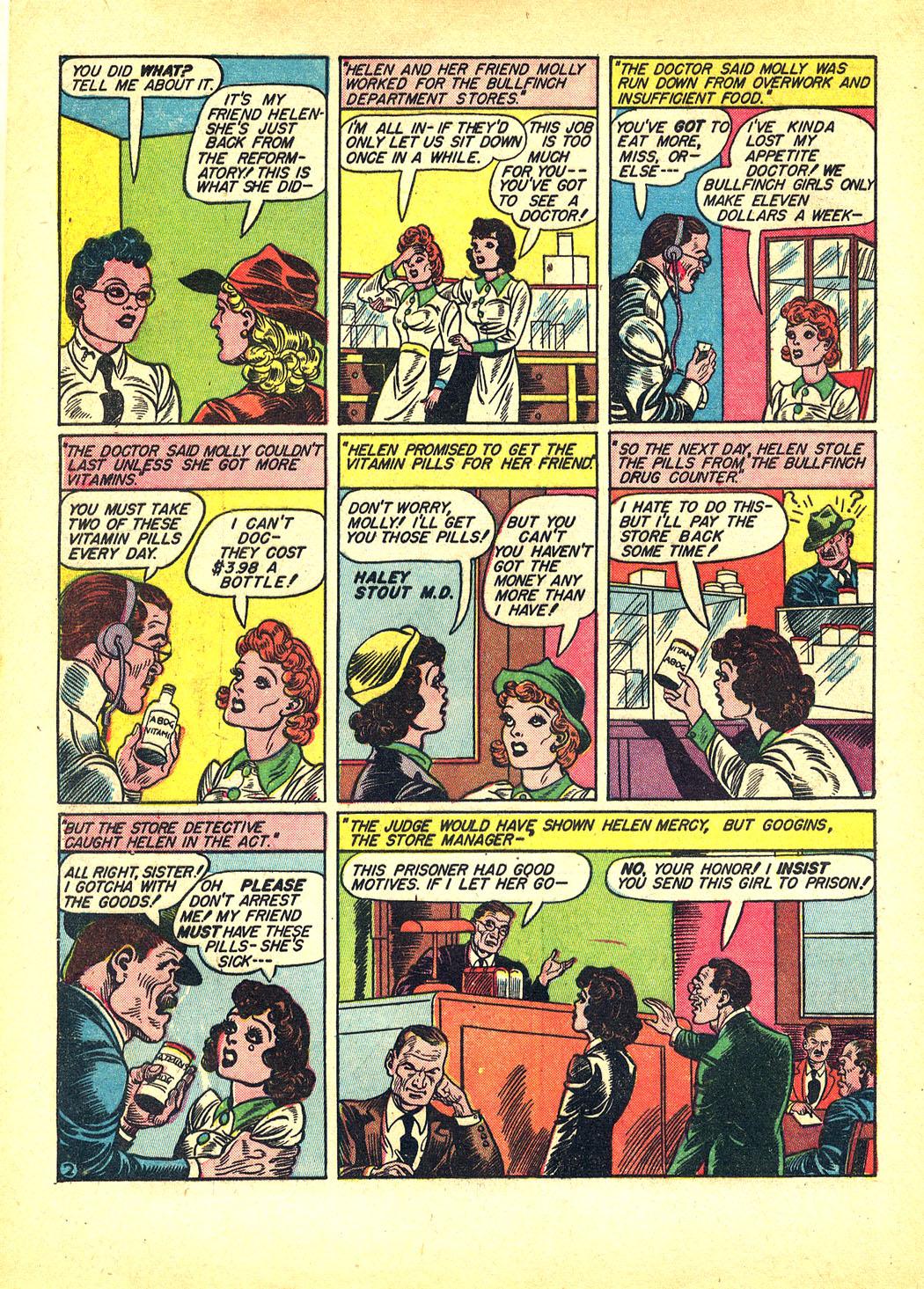 Read online Sensation (Mystery) Comics comic -  Issue #8 - 4