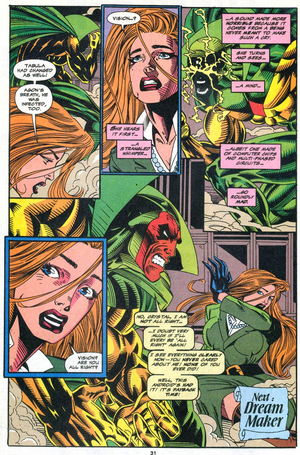 Read online The Vision comic -  Issue #2 - 24