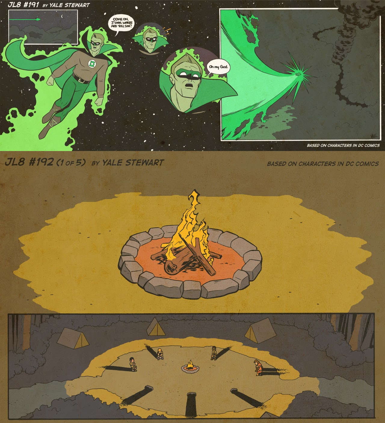 Read online JL8 – The Complete Collection comic -  Issue # TPB (Part 2) - 7