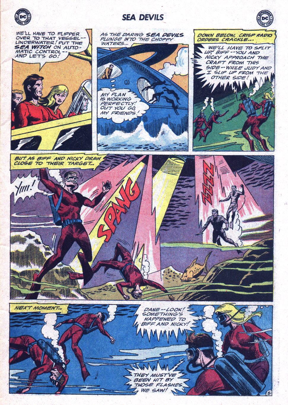 Read online Sea Devils comic -  Issue #19 - 7