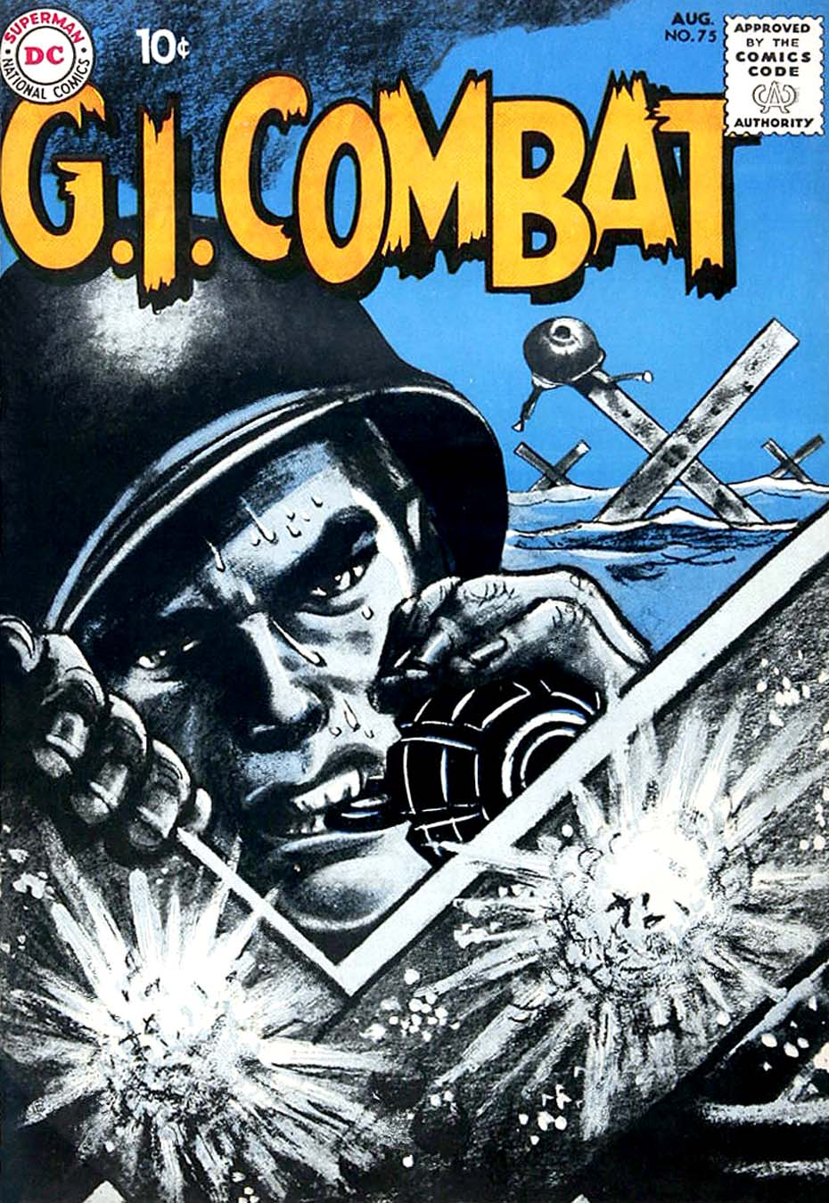 G.I. Combat (1952) issue 75 - Page 1