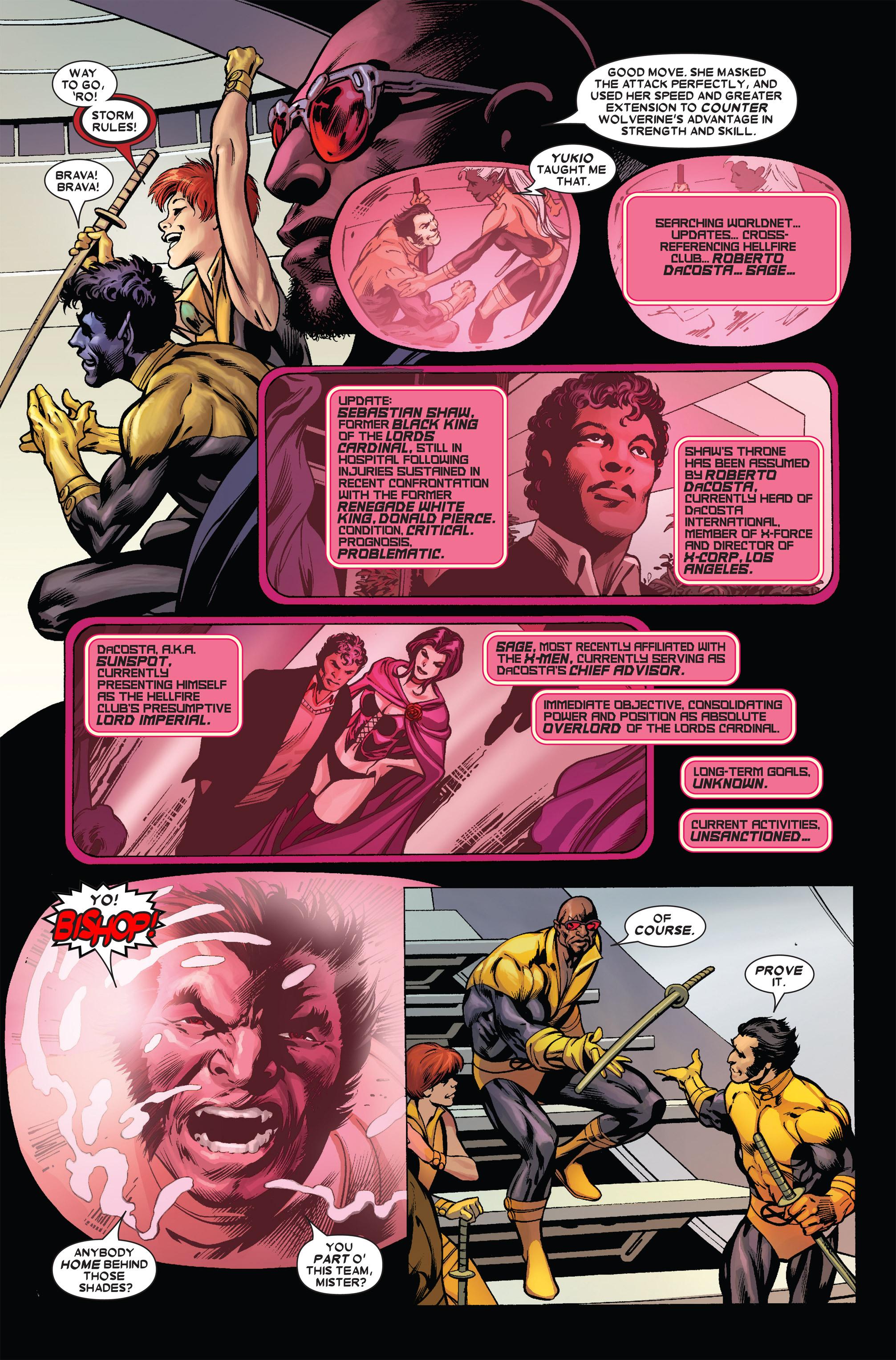 Read online Uncanny X-Men (1963) comic -  Issue #455 - 9