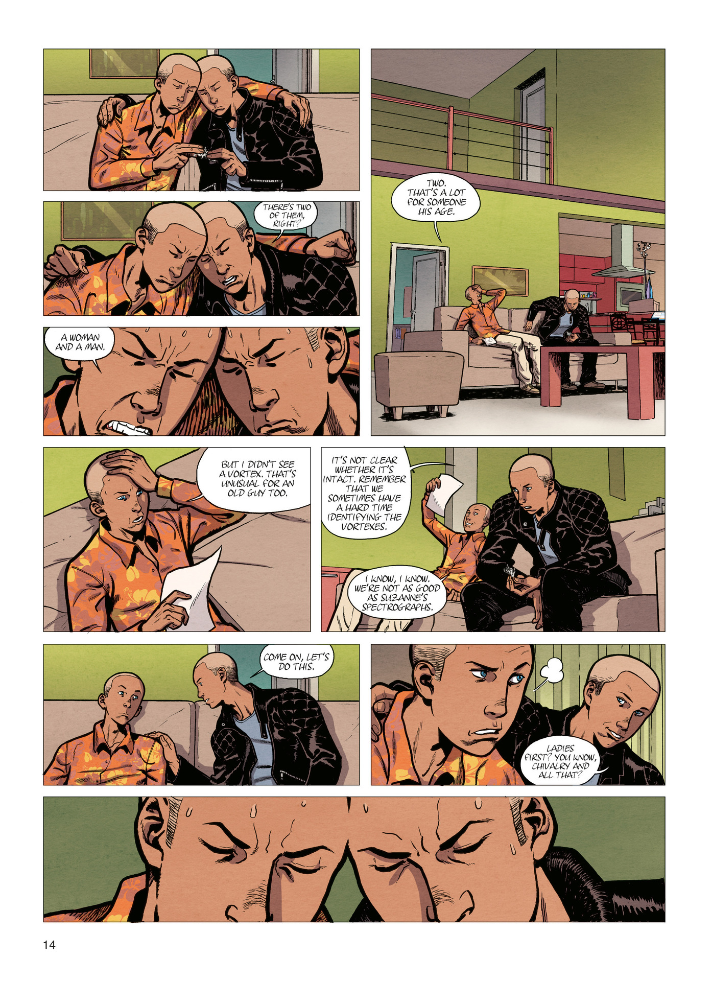 Read online Alter Ego comic -  Issue #4 - 16