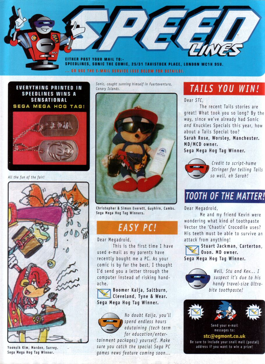 Read online Sonic the Comic comic -  Issue #85 - 31