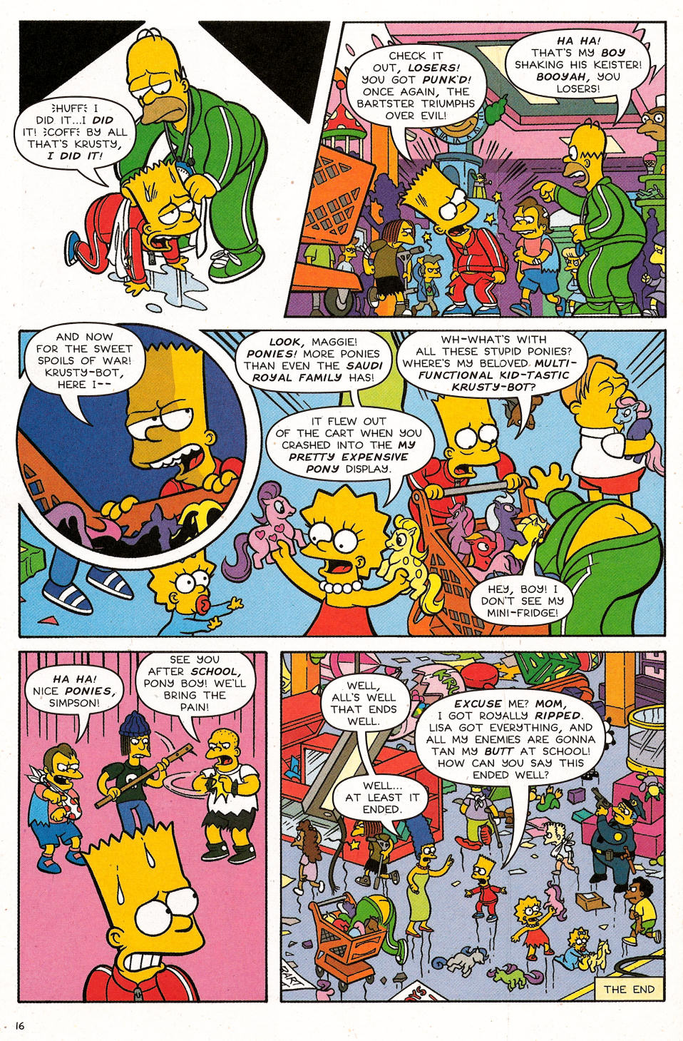 Read online Simpsons Comics Presents Bart Simpson comic -  Issue #31 - 18