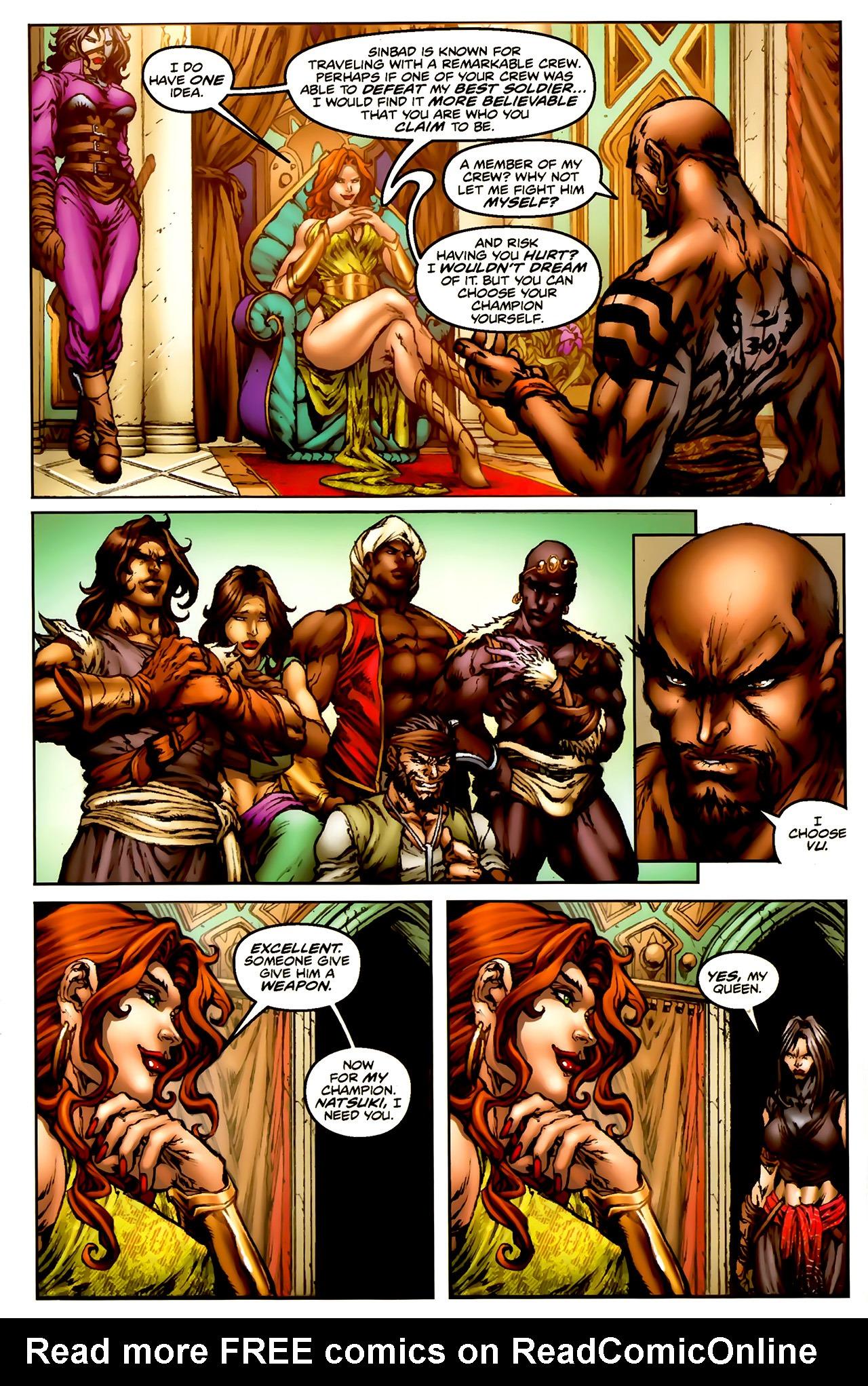 Read online 1001 Arabian Nights: The Adventures of Sinbad comic -  Issue #1 - 20