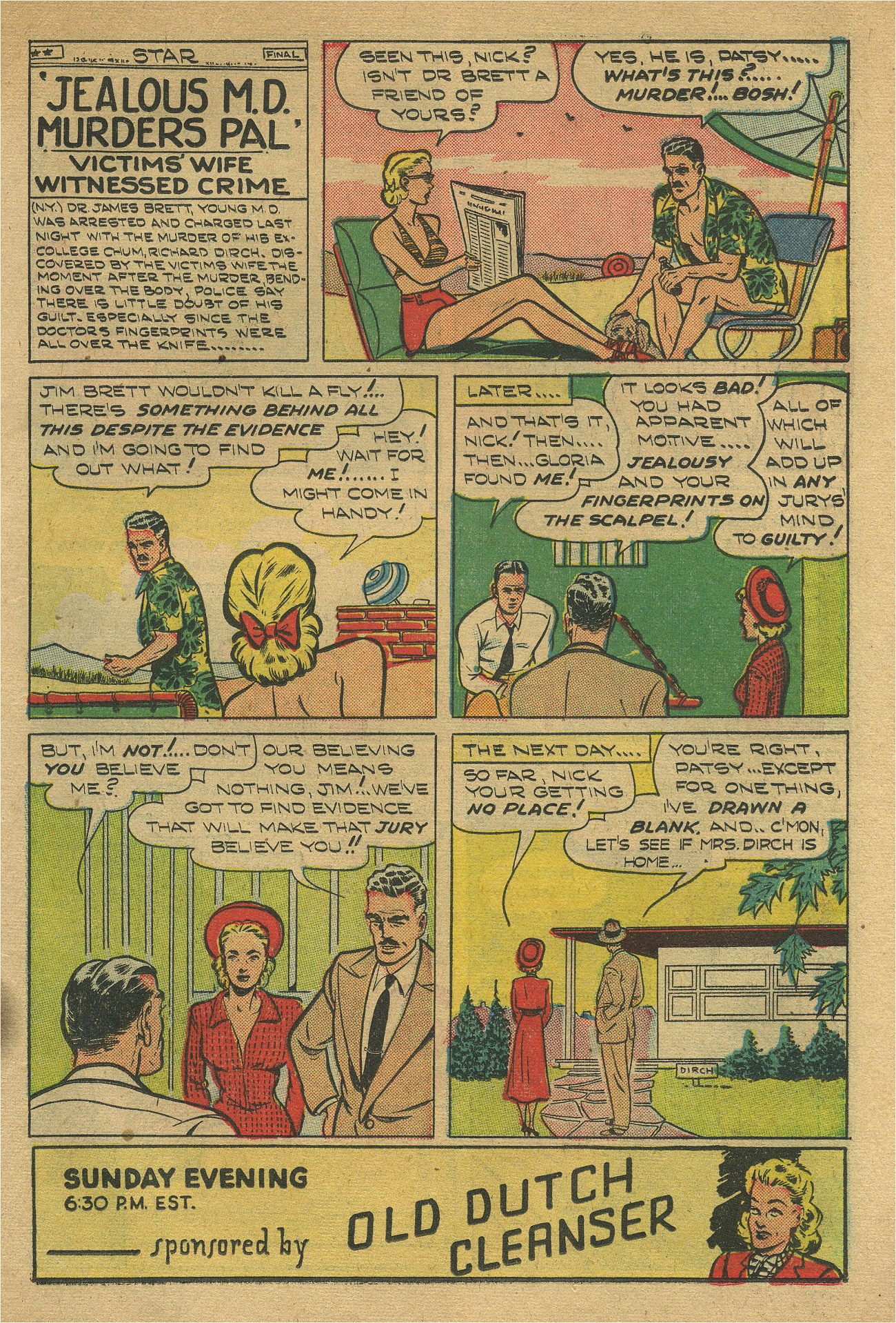 Read online Shadow Comics comic -  Issue #93 - 18