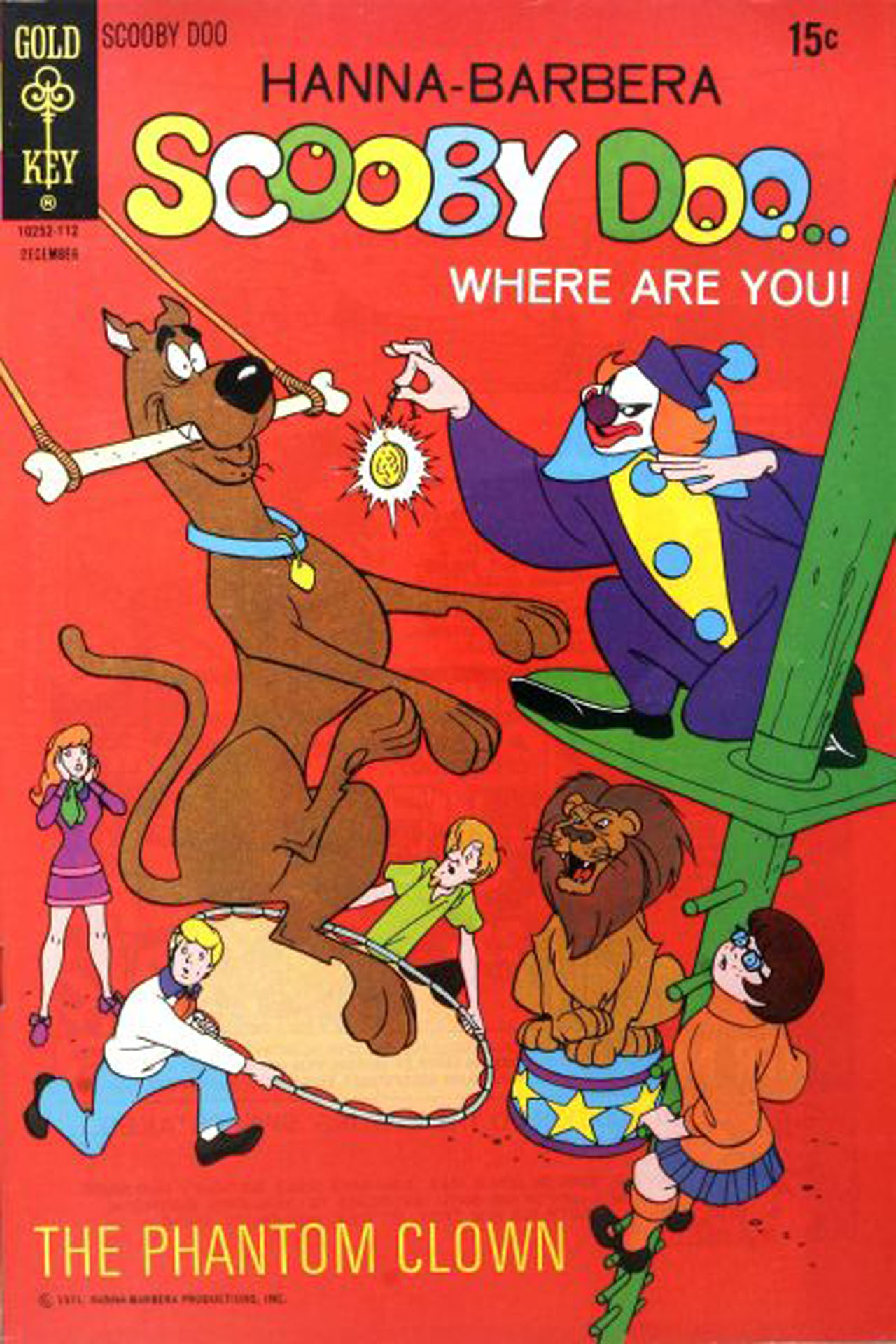 Read online Scooby-Doo... Where Are You! (1970) comic -  Issue #9 - 2