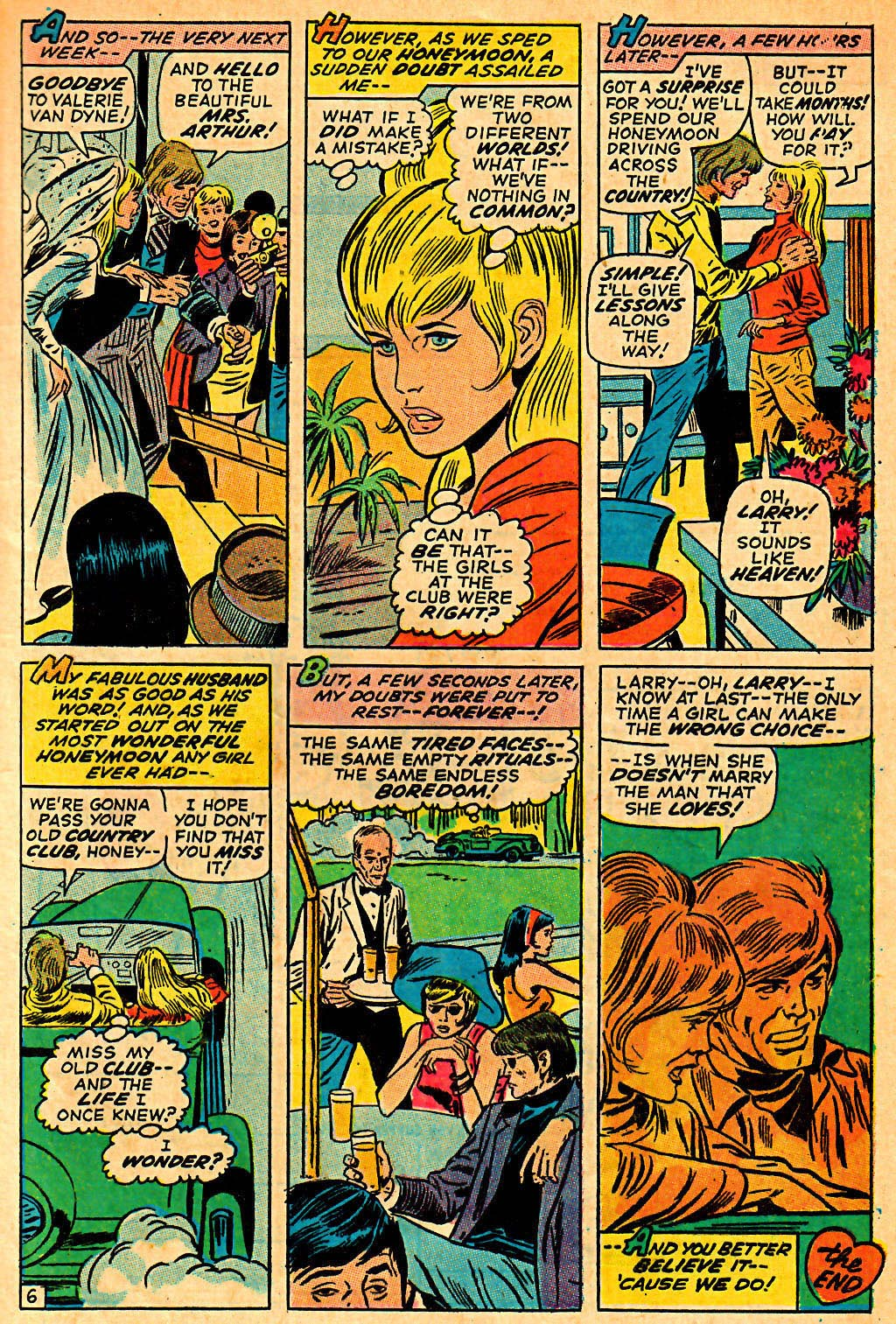 My Love (1969) issue 7 - Page 9