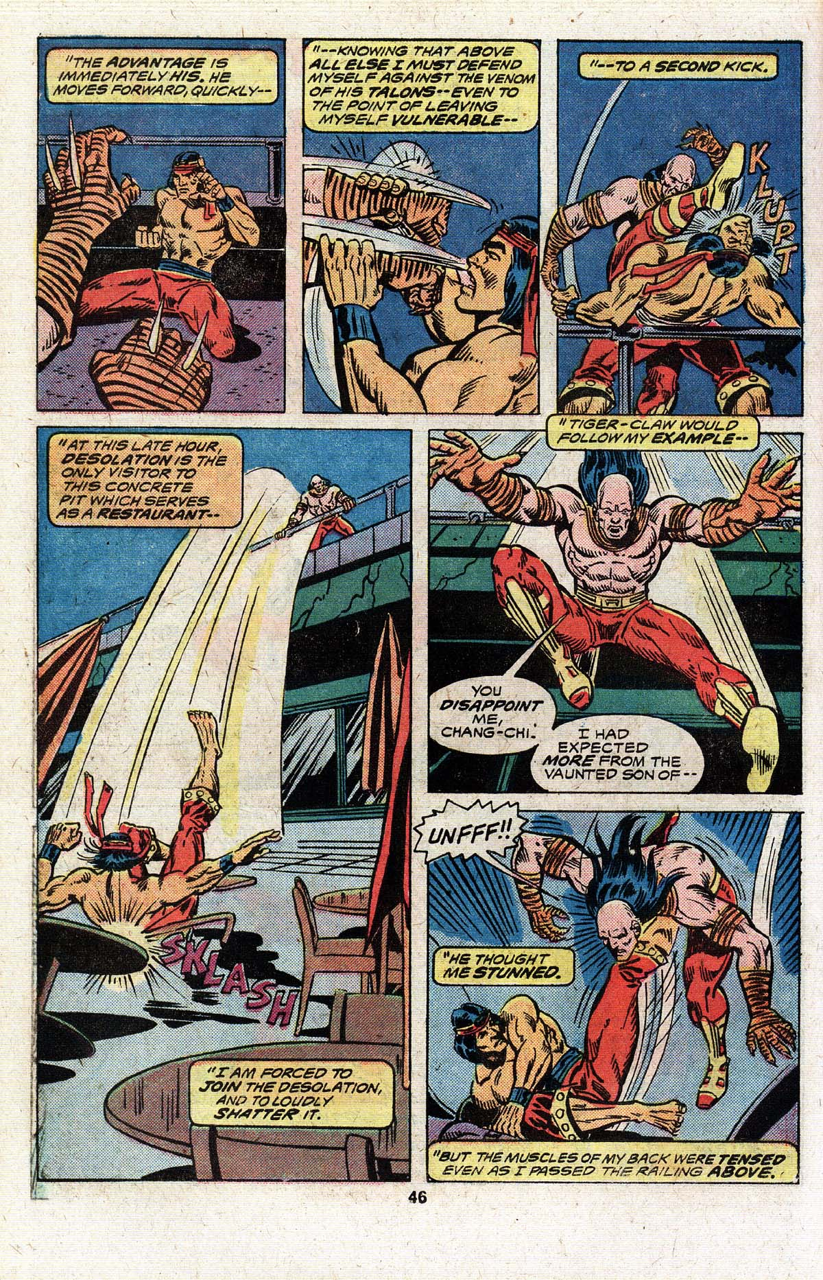 Read online Giant-Size Master of Kung Fu comic -  Issue #4 - 38