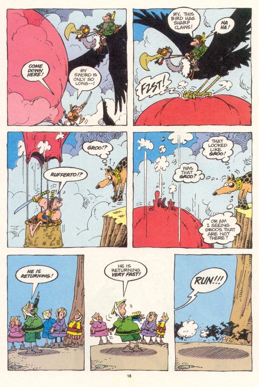 Read online Sergio Aragonés Groo the Wanderer comic -  Issue #115 - 20