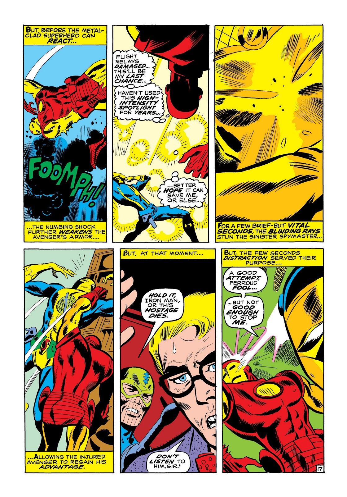 Read online Marvel Masterworks: The Invincible Iron Man comic -  Issue # TPB 7 (Part 2) - 85