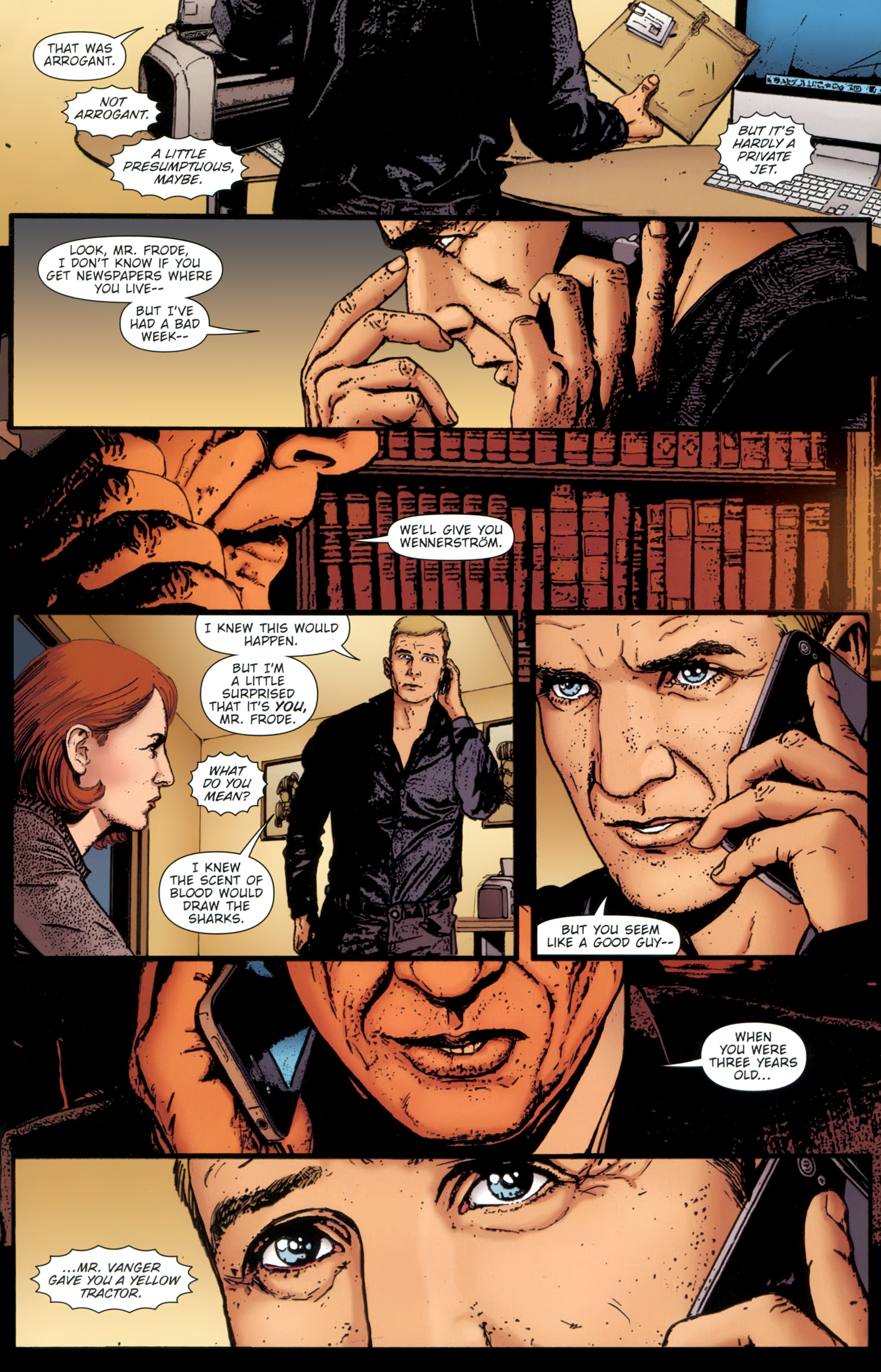 Read online The Girl With the Dragon Tattoo comic -  Issue # TPB 1 - 28