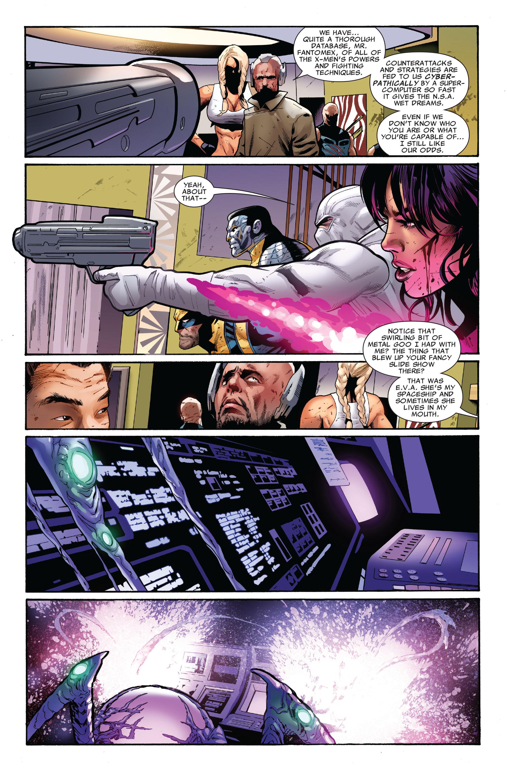 Read online Uncanny X-Men (1963) comic -  Issue #521 - 12