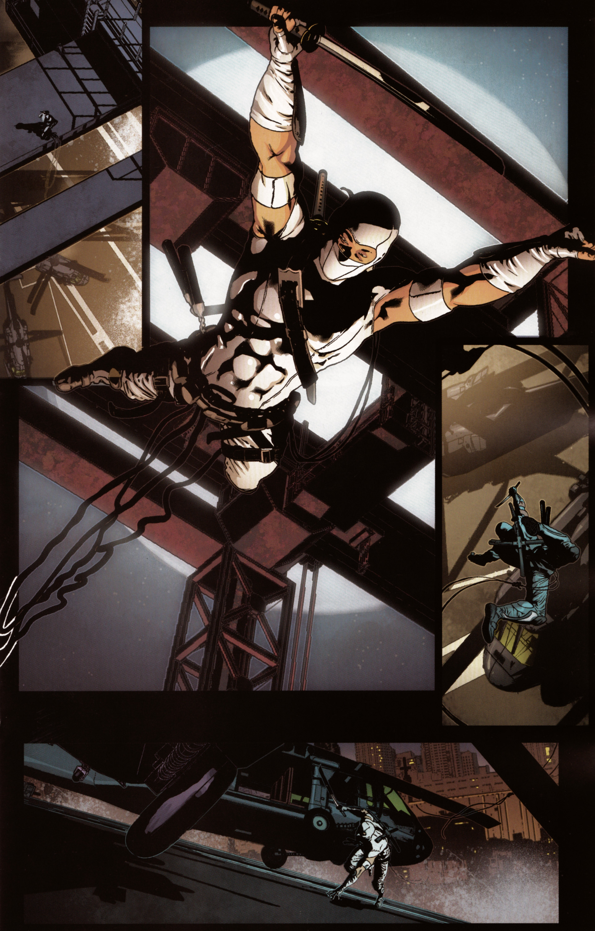 Read online Snake Eyes and Storm Shadow comic -  Issue #20 - 11